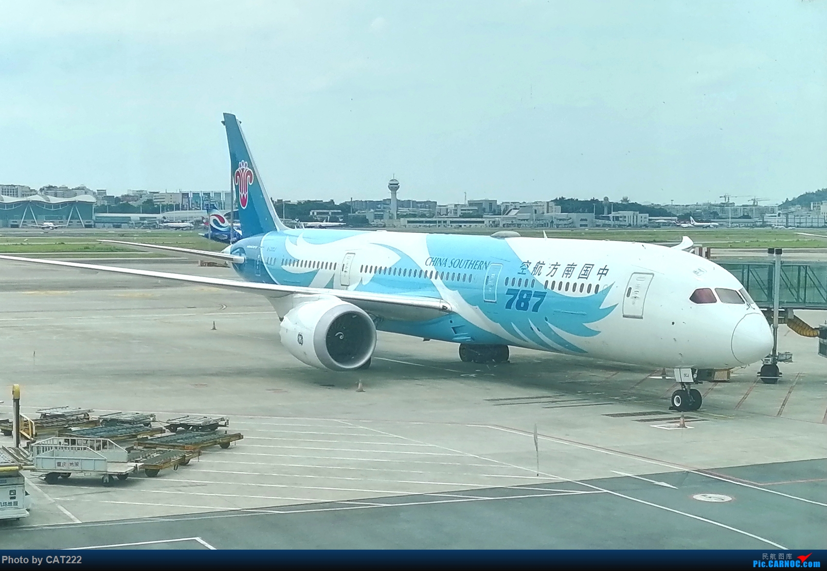 Re:[原创]CZ3406 重庆—广州随手拍(新人首次发帖) 波音787 B-20CJ 江北机场