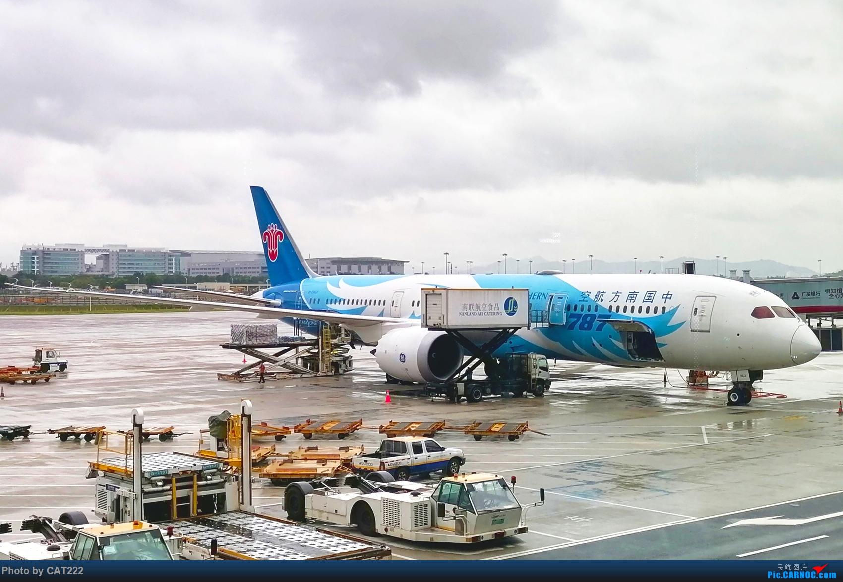 Re:[原创]CZ3406 重庆—广州随手拍(新人首次发帖) 波音787 B-20CJ 白云机场