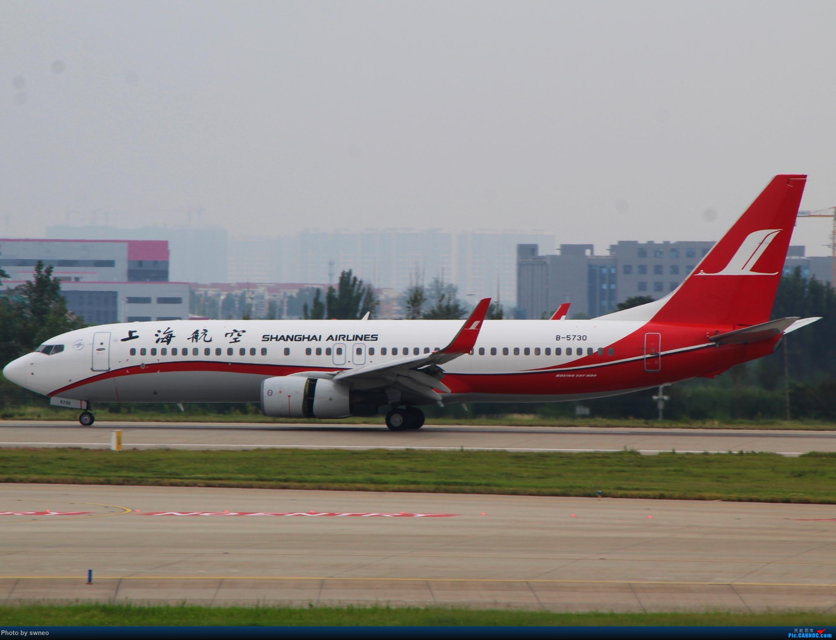 Re:[原创]CGO萌新拍机 BOEING 737-800 B-5730 中国郑州新郑国际机场