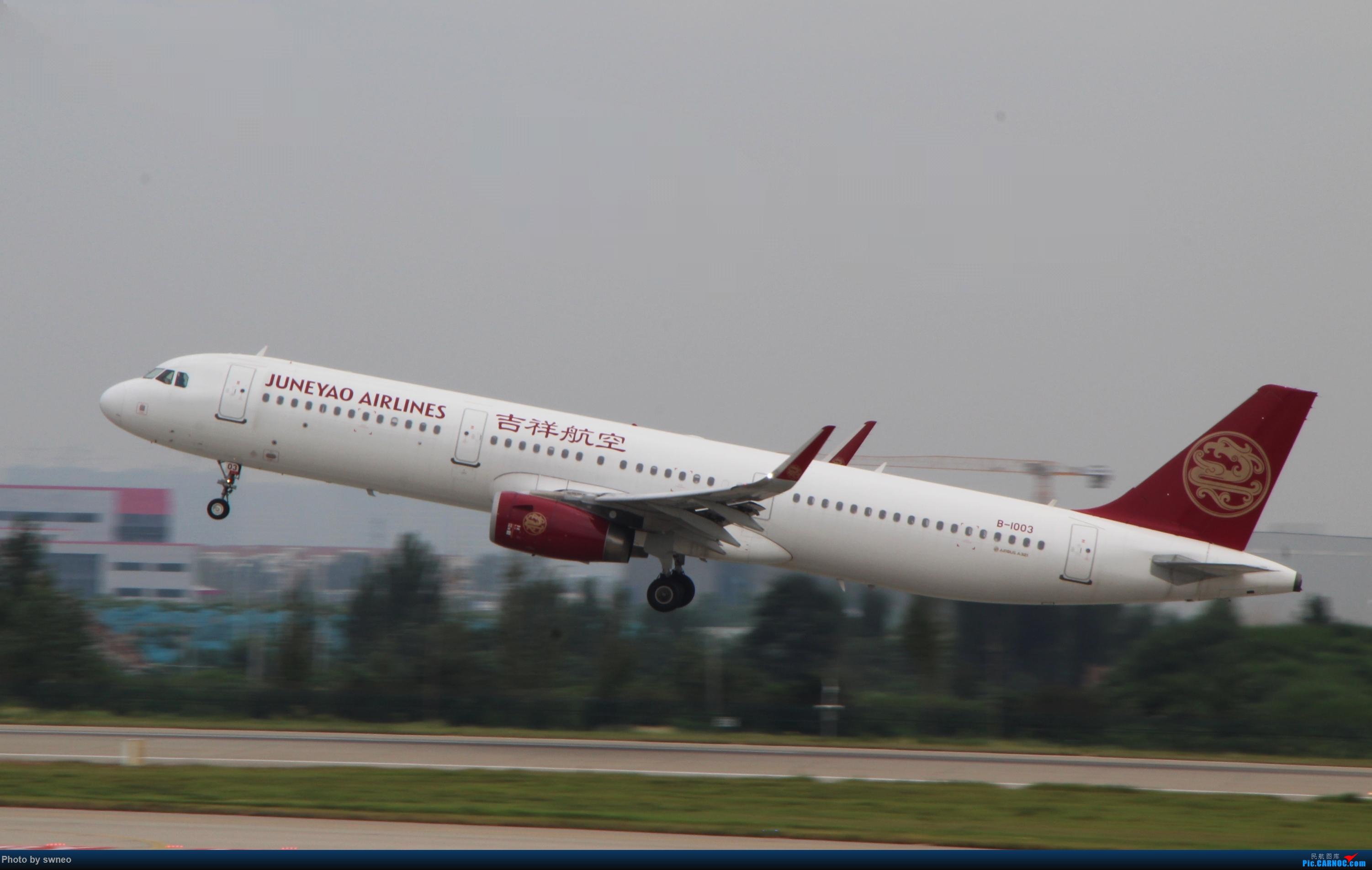 Re:[原创]CGO萌新拍机 AIRBUS A321-200 B-1003 中国郑州新郑国际机场