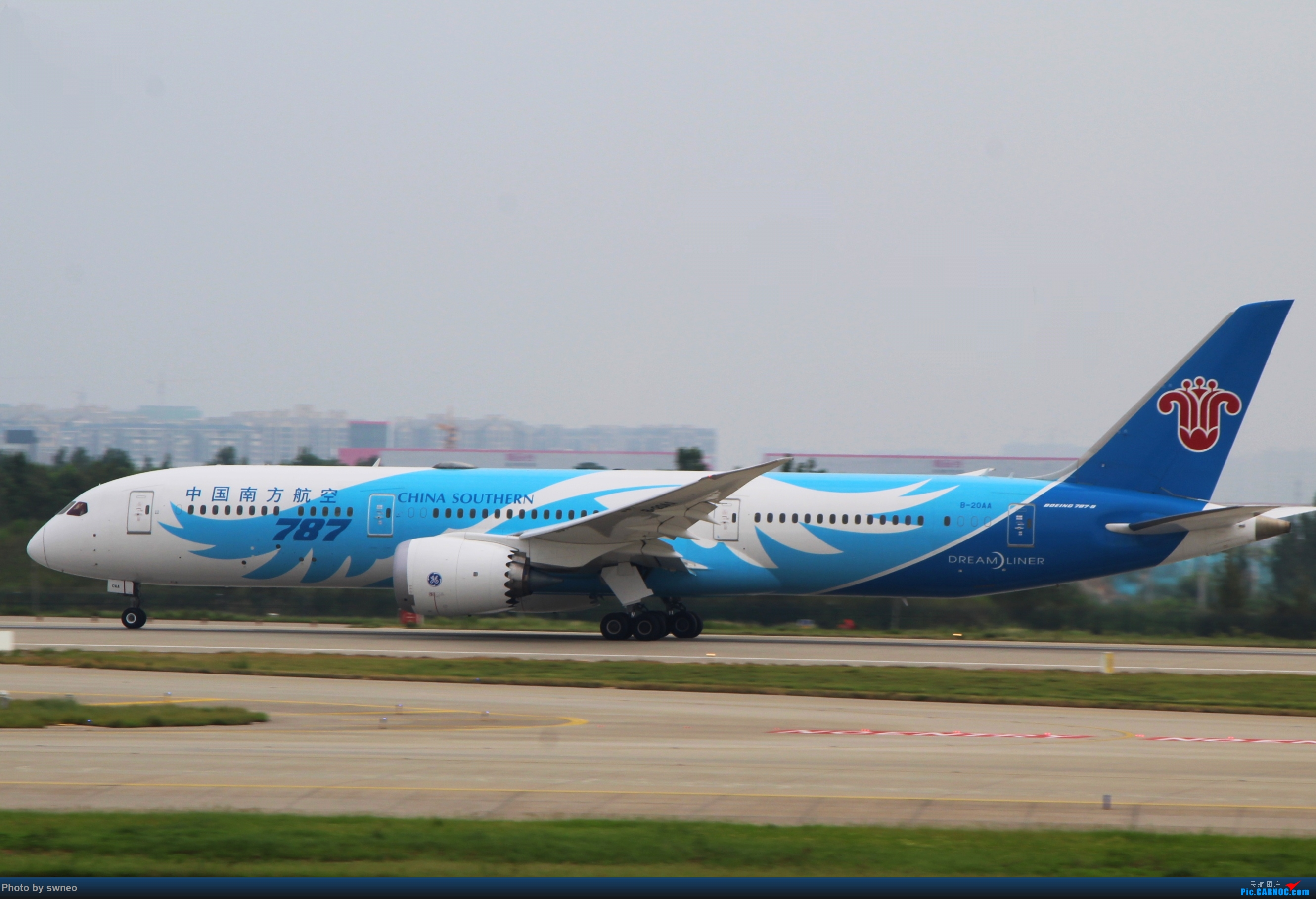 Re:[原创]CGO萌新拍机 BOEING 787-9 B-20AA 中国郑州新郑国际机场