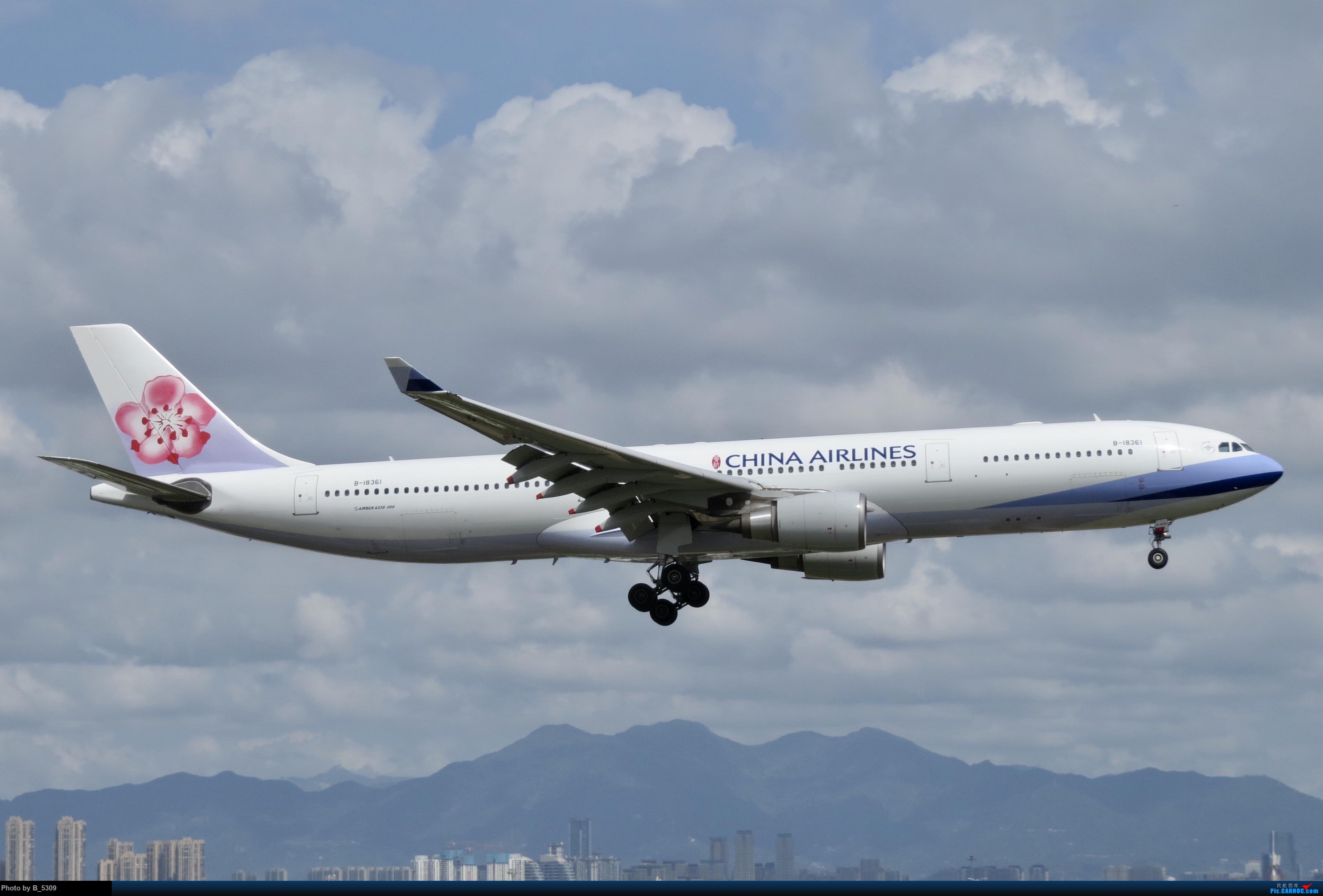 [原创]白鹭窝终于换向了。。。 AIRBUS A330-300 B-18361 中国厦门高崎国际机场