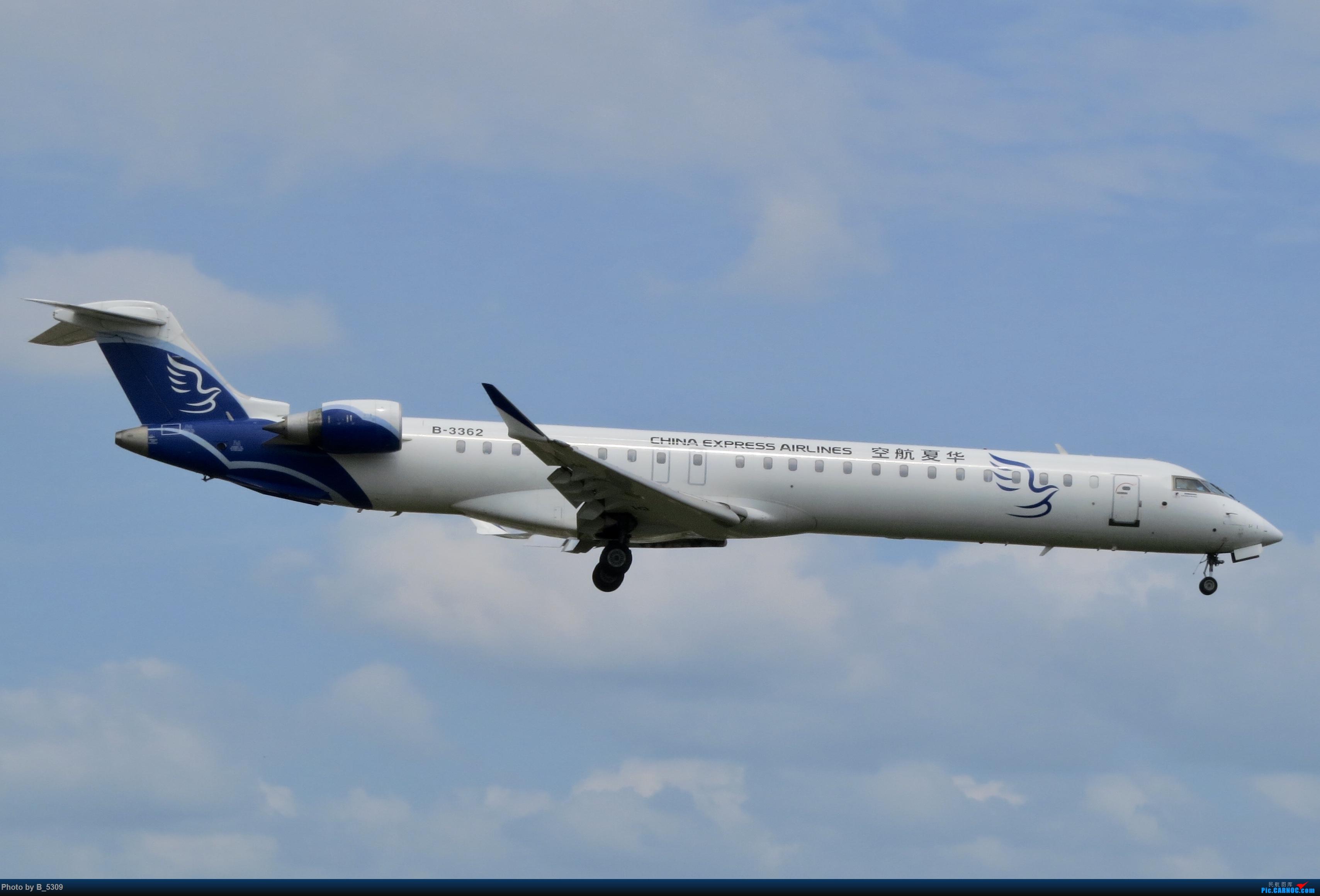 Re:[原创]白鹭窝终于换向了。。。 BOMBARDIER CRJ900NG B-3362 中国厦门高崎国际机场
