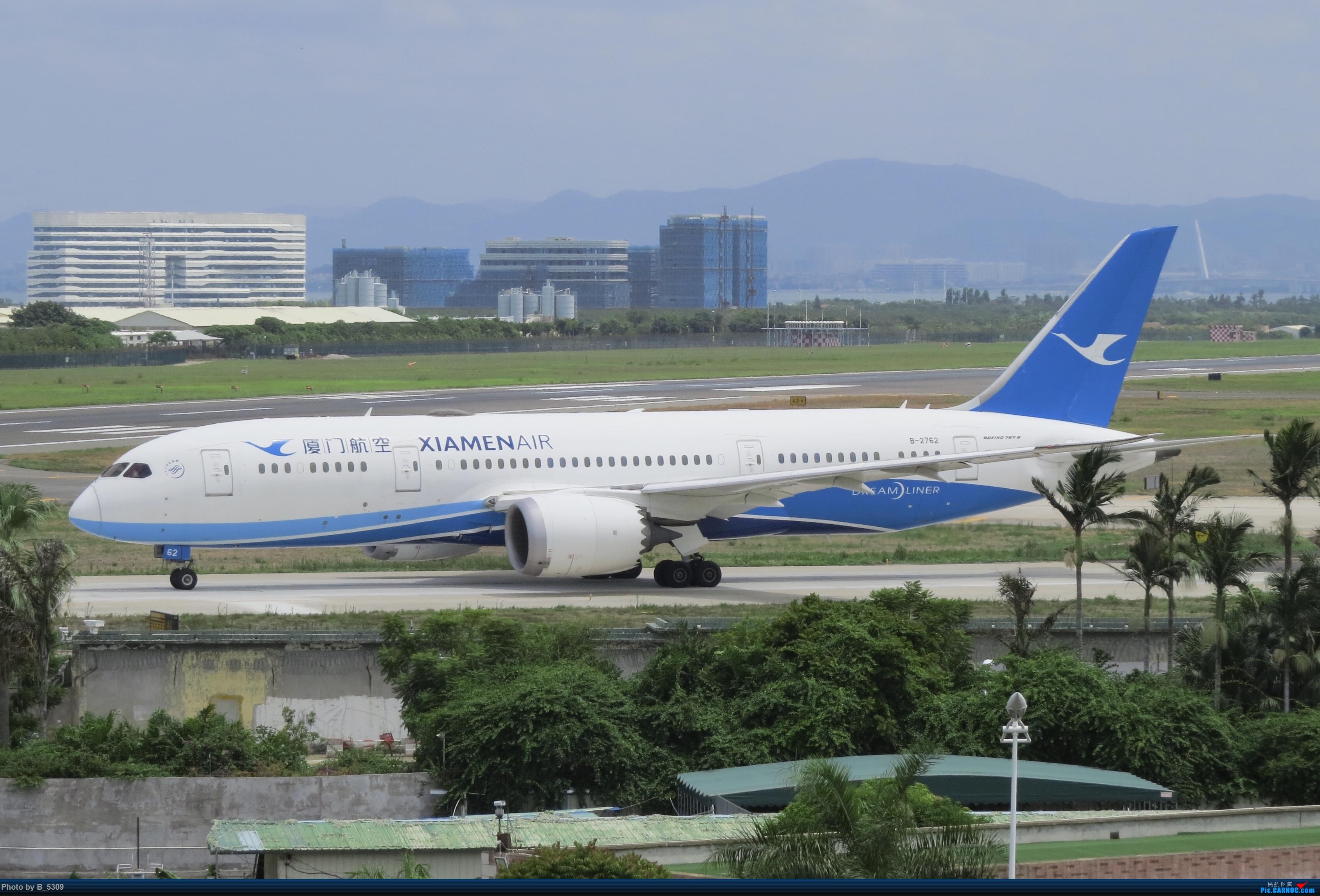 Re:[原创]白鹭窝终于换向了。。。 BOEING 787-8 B-2762 中国厦门高崎国际机场