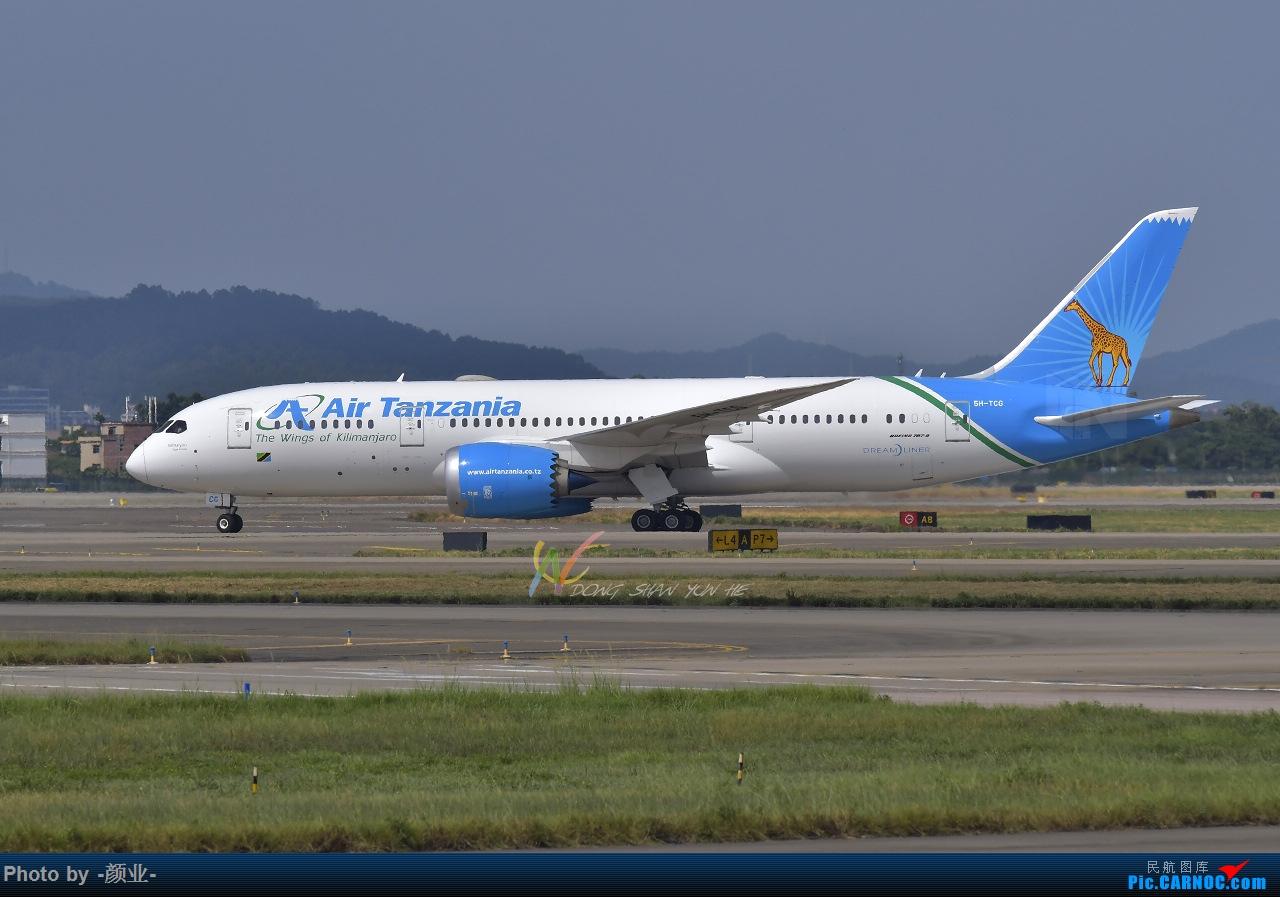 Re:走近飞机起降点(无尽创意) BOEING 787-8 5H-TCG 中国广州白云国际机场