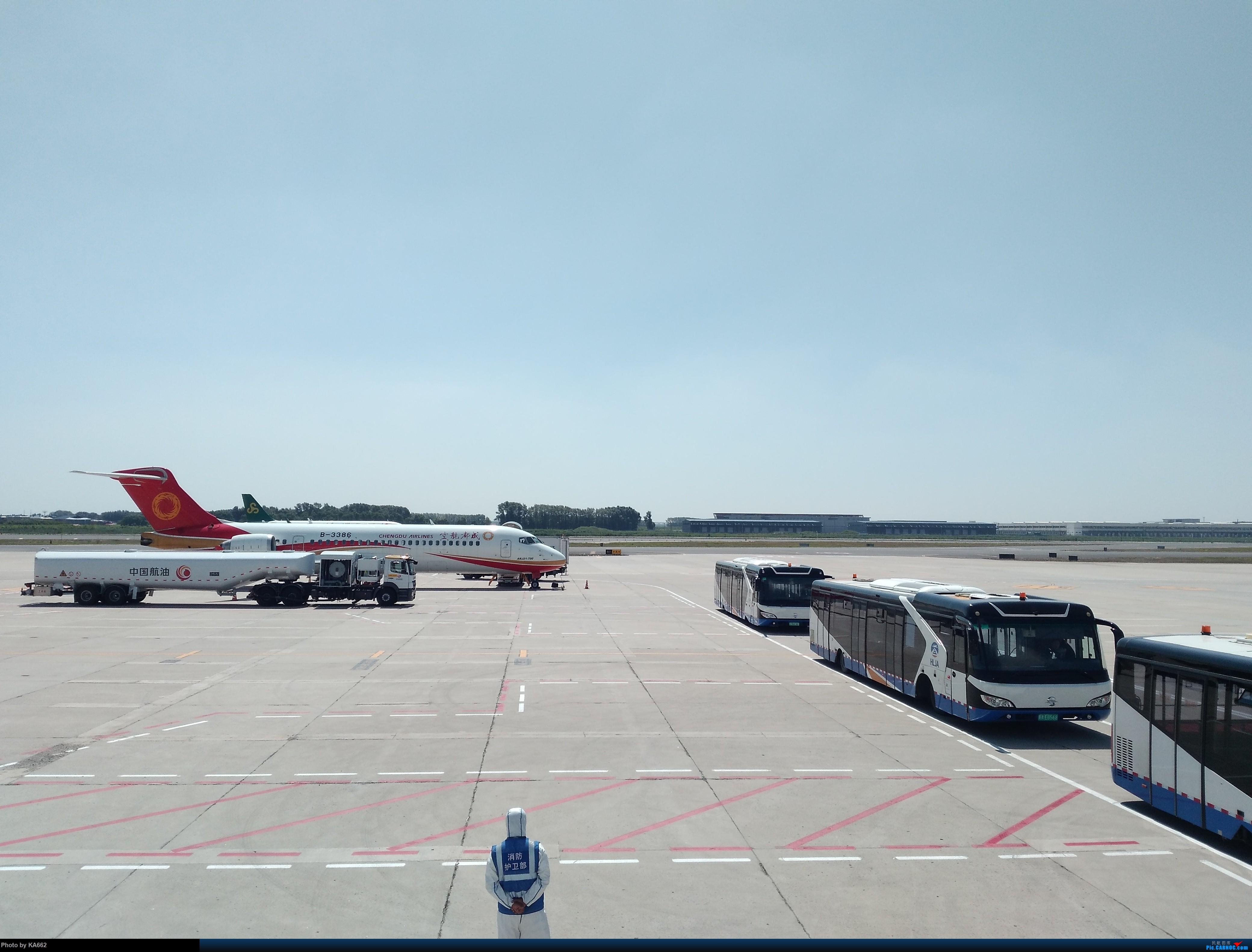 Re:[原创]【HRB/ZYHB】哈尔滨太平机场——内场第一拍 COMAC ARJ21-700 B-3386 中国哈尔滨太平国际机场
