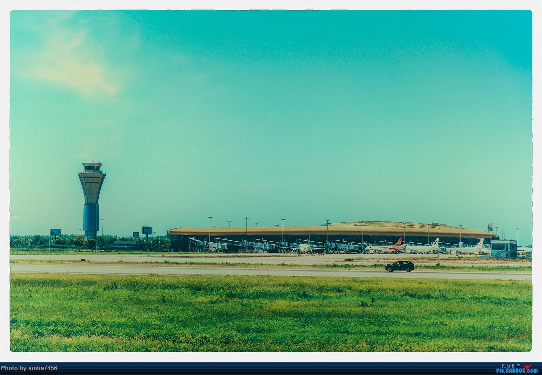 [原创]【霸都打机队】三伏天去桥机场晒太阳,我晒红了,儿子没有。。。    中国合肥新桥国际机场