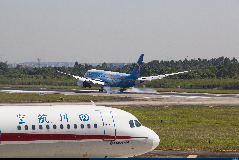 Re:CTU拍机 擦烟爱好者可进 好货多 巴基斯坦军机 BOEING 787-8 B-2735 中国成都双流国际机场