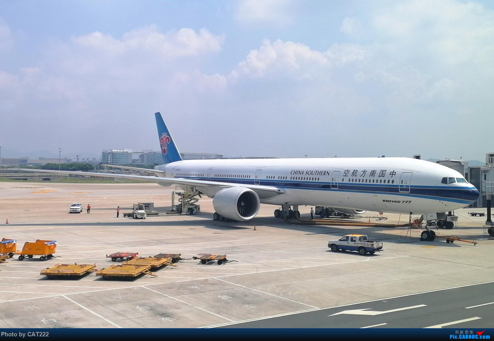 Re:[原创]3天2夜的短暂北京之行,京广线初体验 BOEING 777-300ER B-20AC 白云机场