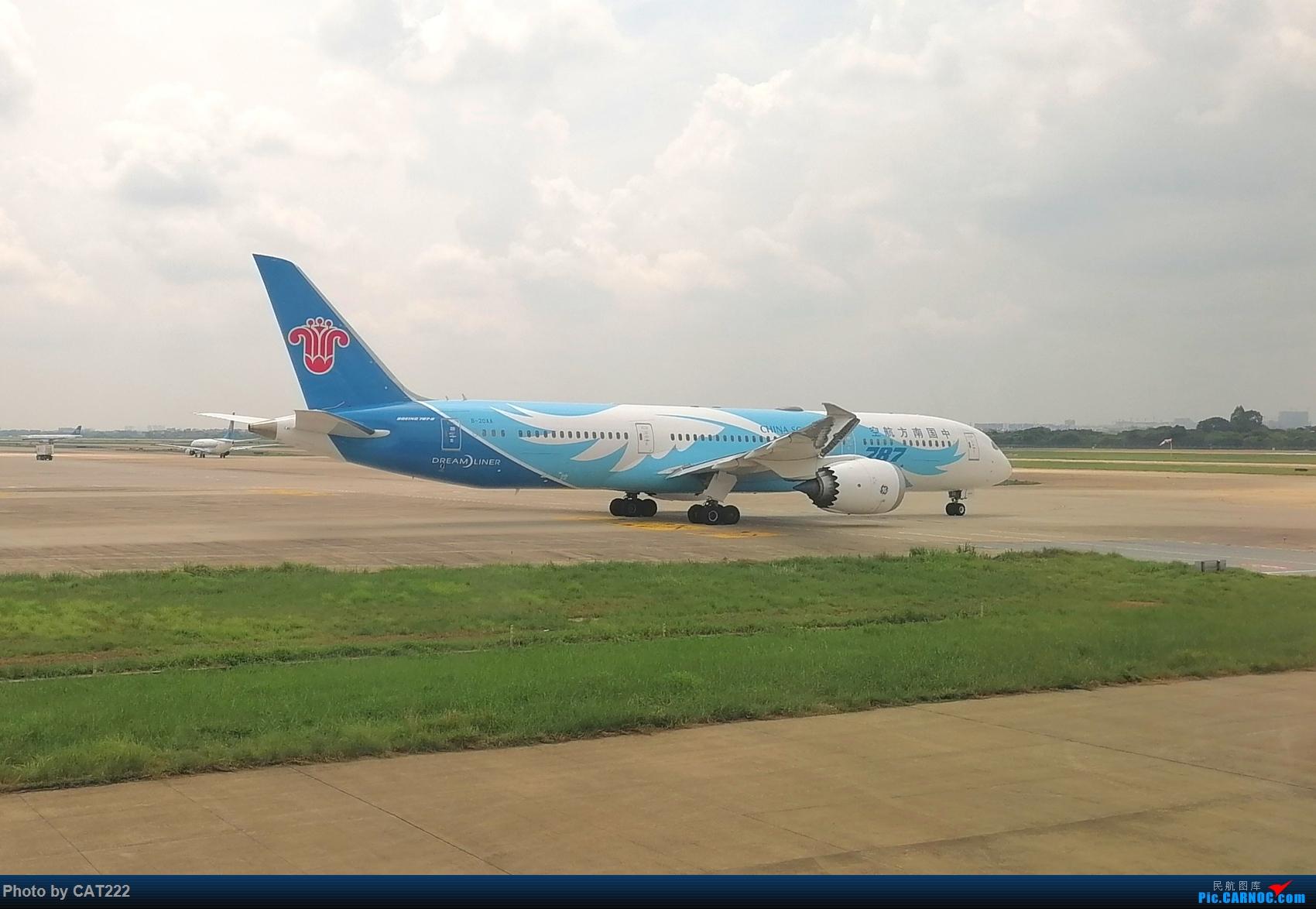 Re:[原创]3天2夜的短暂北京之行,京广线初体验 波音787 B-20AA 白云机场