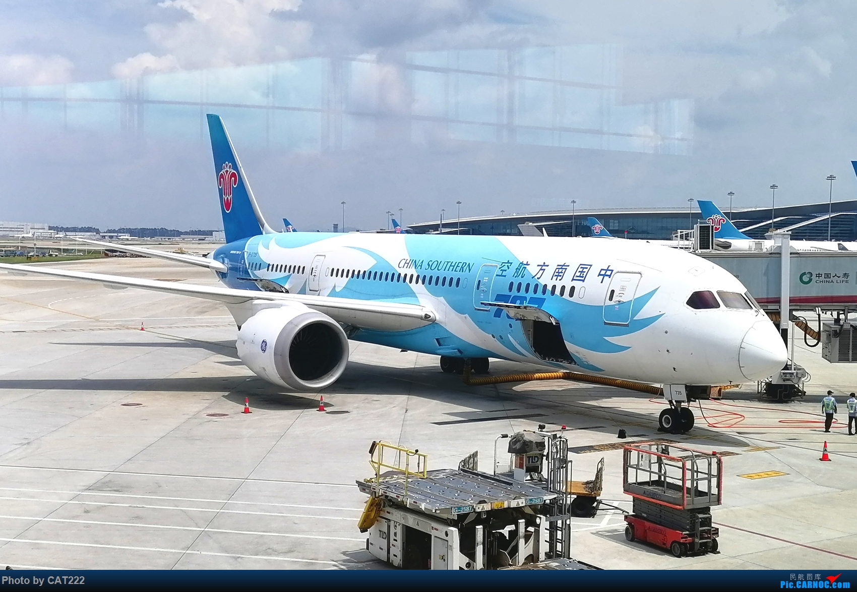 Re:[原创]3天2夜的短暂北京之行,京广线初体验 波音787 B-2735 白云机场