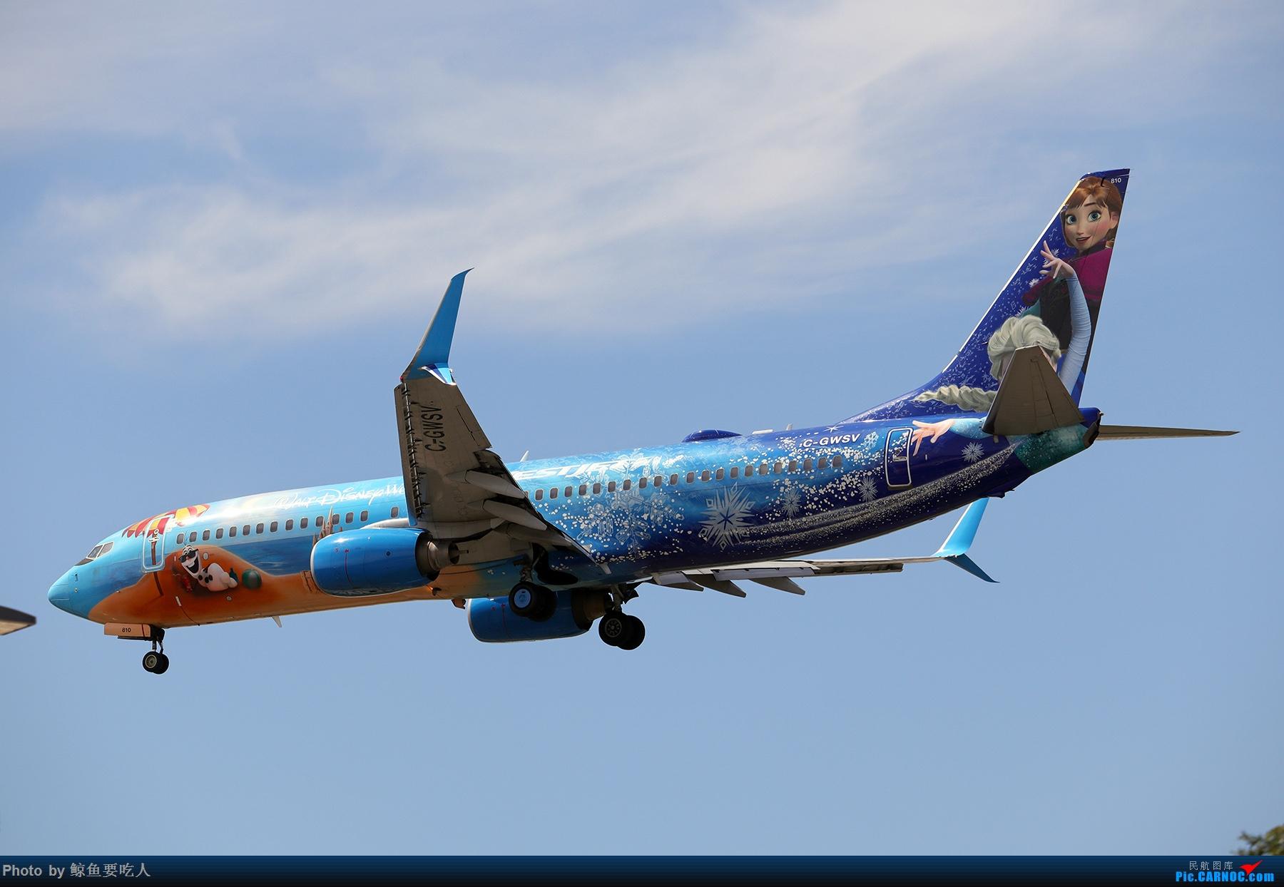 Re:[原创]【多图党】见证疫情后逐步的恢复,加拿大夏日多伦多皮尔逊机场拍机~ 乐见诸航空公司复航多伦多 BOEING 737-800 C-GWSV 多伦多皮尔逊国际机场