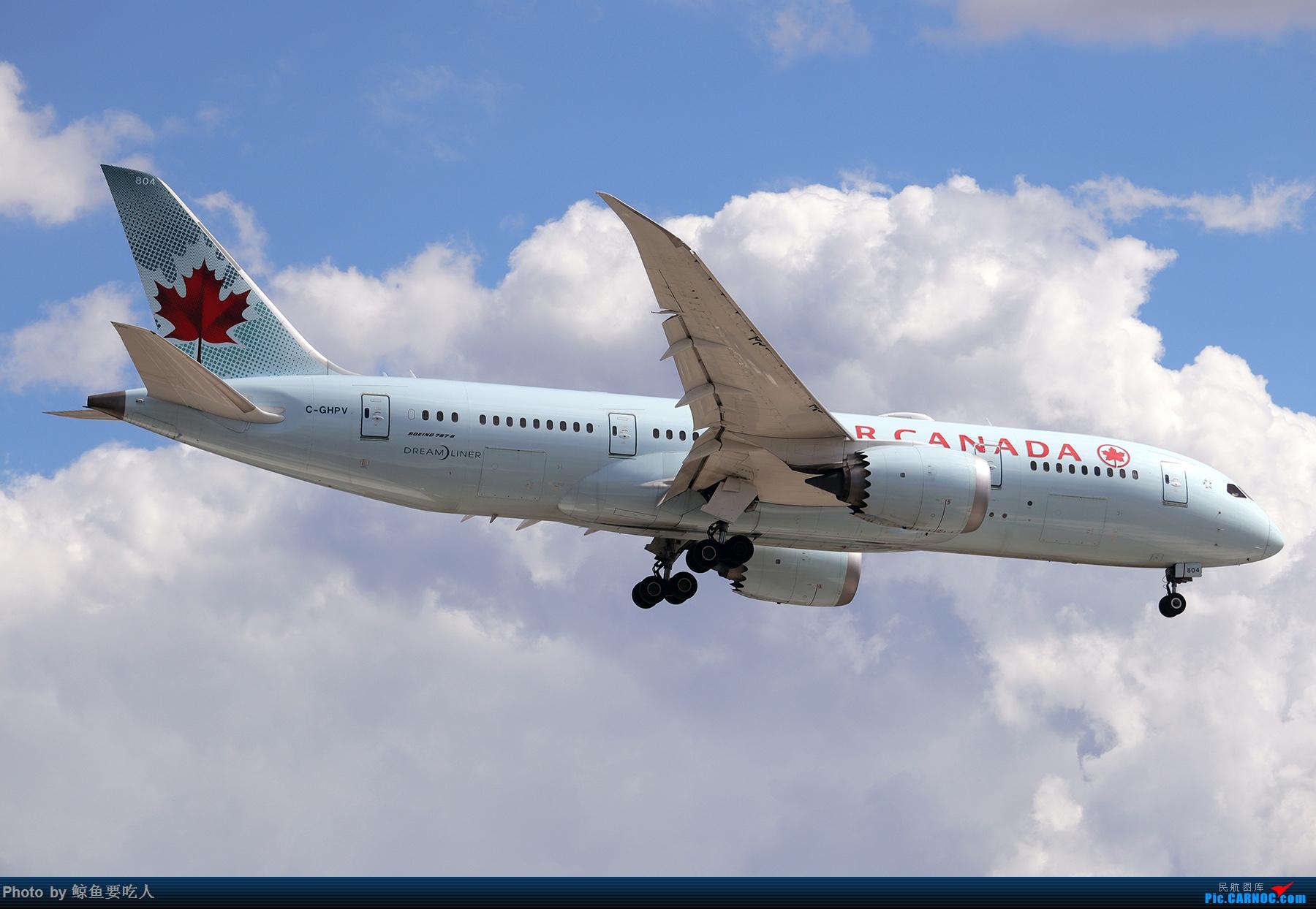 Re:[原创]【多图党】见证疫情后逐步的恢复,加拿大夏日多伦多皮尔逊机场拍机~ 乐见诸航空公司复航多伦多 BOEING 787 C-GHPV 多伦多皮尔逊国际机场
