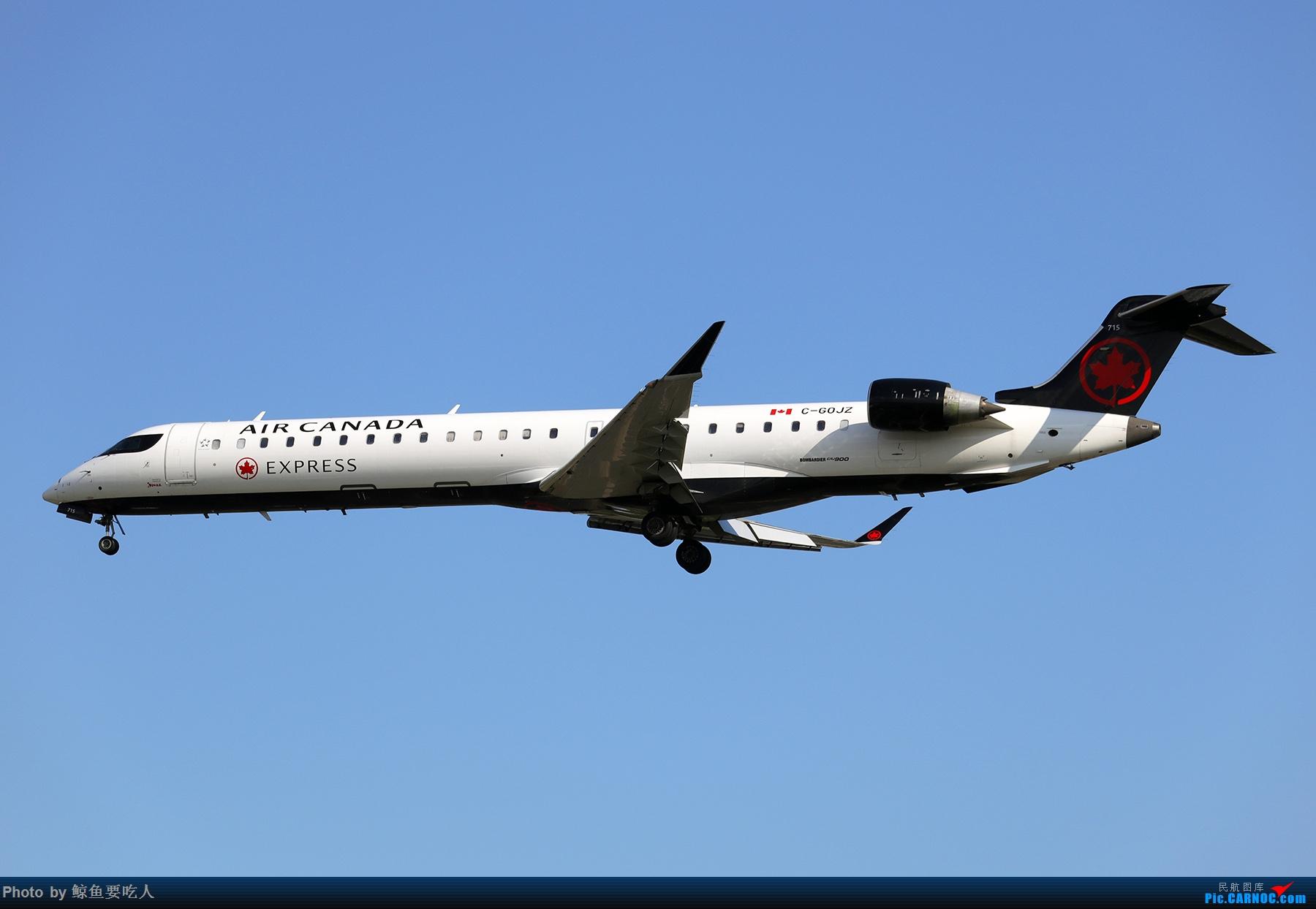 Re:[原创]【多图党】见证疫情后逐步的恢复,加拿大夏日多伦多皮尔逊机场拍机~ 乐见诸航空公司复航多伦多 BOMBARDIER CRJ-900 C-GOJZ 多伦多皮尔逊国际机场
