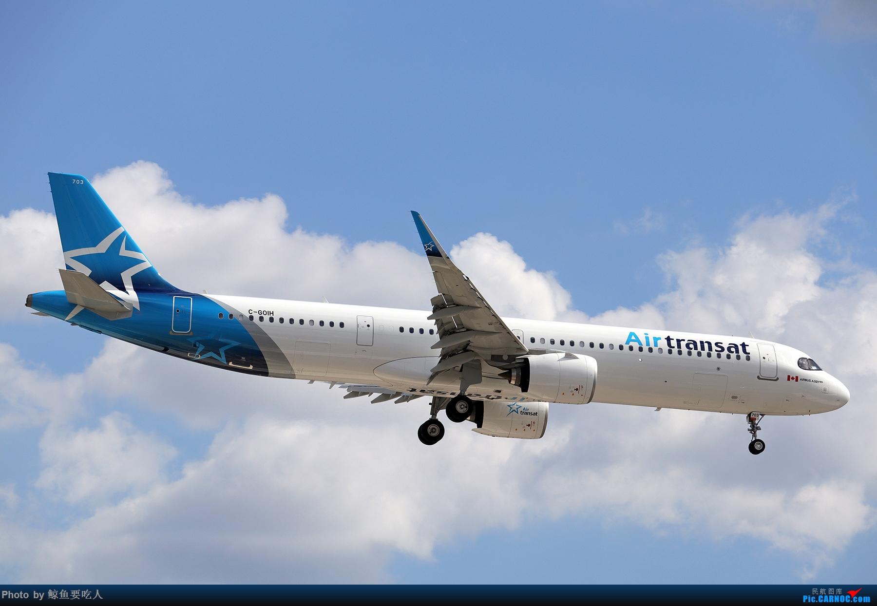 Re:[原创]【多图党】见证疫情后逐步的恢复,加拿大夏日多伦多皮尔逊机场拍机~ 乐见诸航空公司复航多伦多 AIRBUS A321NEO C-GOIH 多伦多皮尔逊国际机场