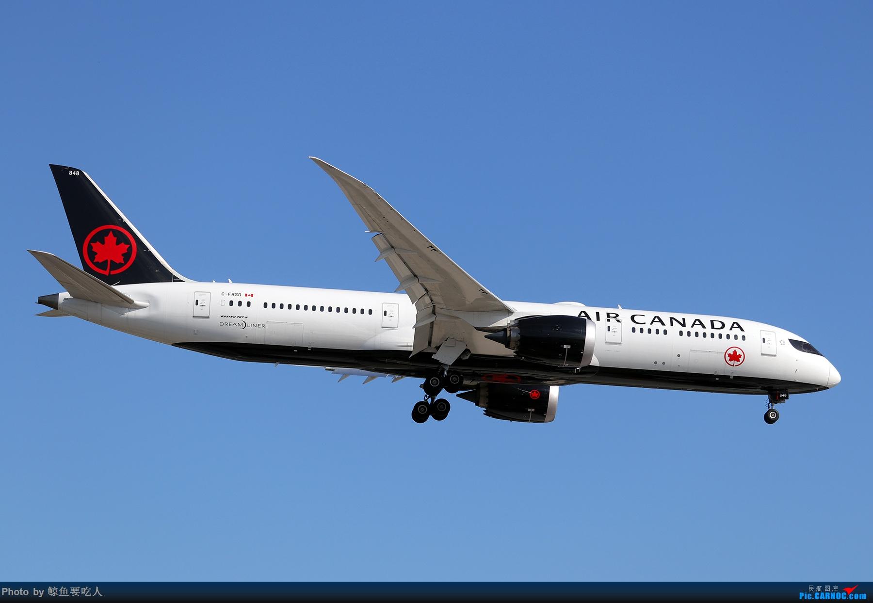 Re:[原创]【多图党】见证疫情后逐步的恢复,加拿大夏日多伦多皮尔逊机场拍机~ 乐见诸航空公司复航多伦多 BOEING 787-9 C-FRSR 多伦多皮尔逊国际机场