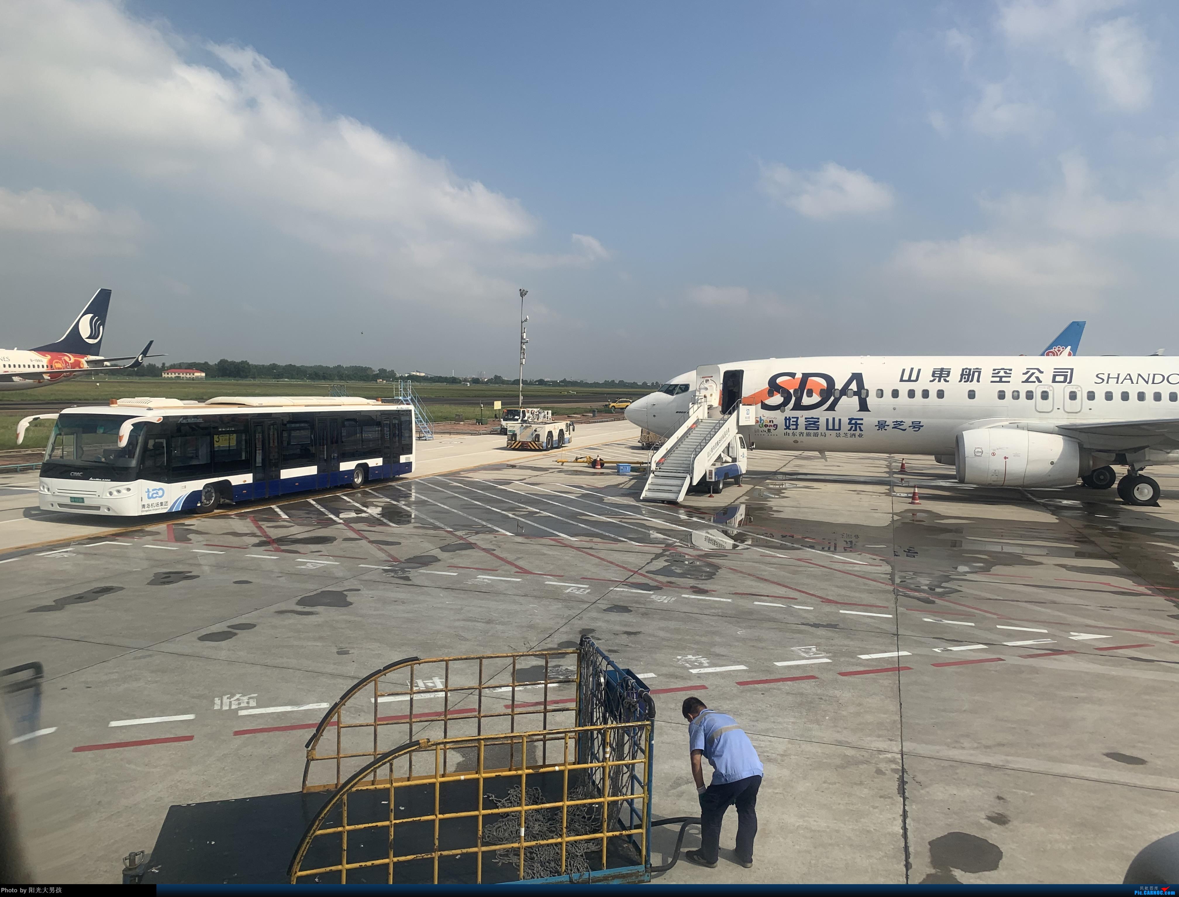 Re:[原创]山航738重庆-青岛-大连,再见!重庆,下次再见! BOEING 737-800 B-5117 机上(8F)