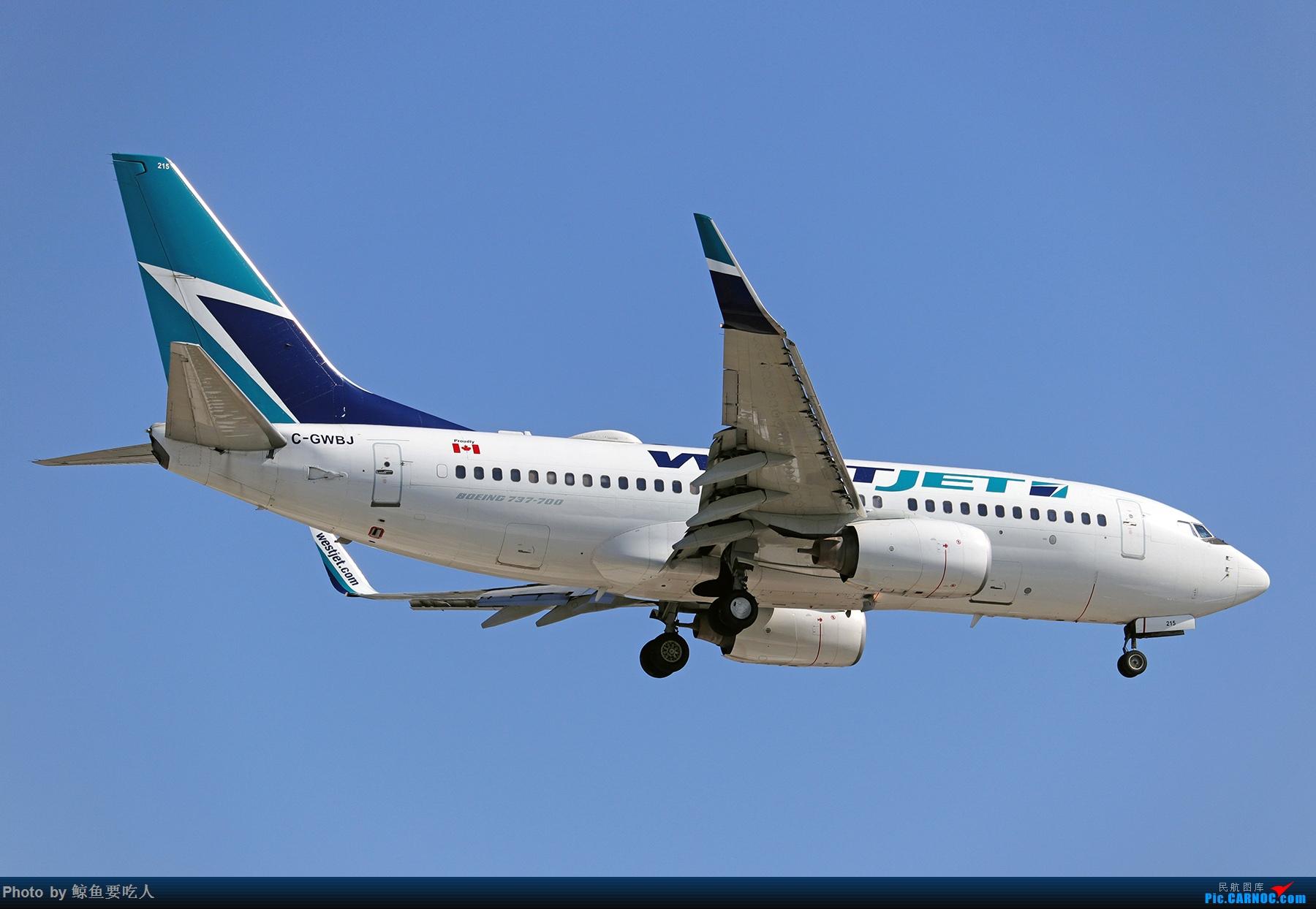 Re:[原创]【多图党】见证疫情后逐步的恢复,加拿大夏日多伦多皮尔逊机场拍机~ 乐见诸航空公司复航多伦多 BOEING 737-700 C-GWBJ 多伦多皮尔逊国际机场