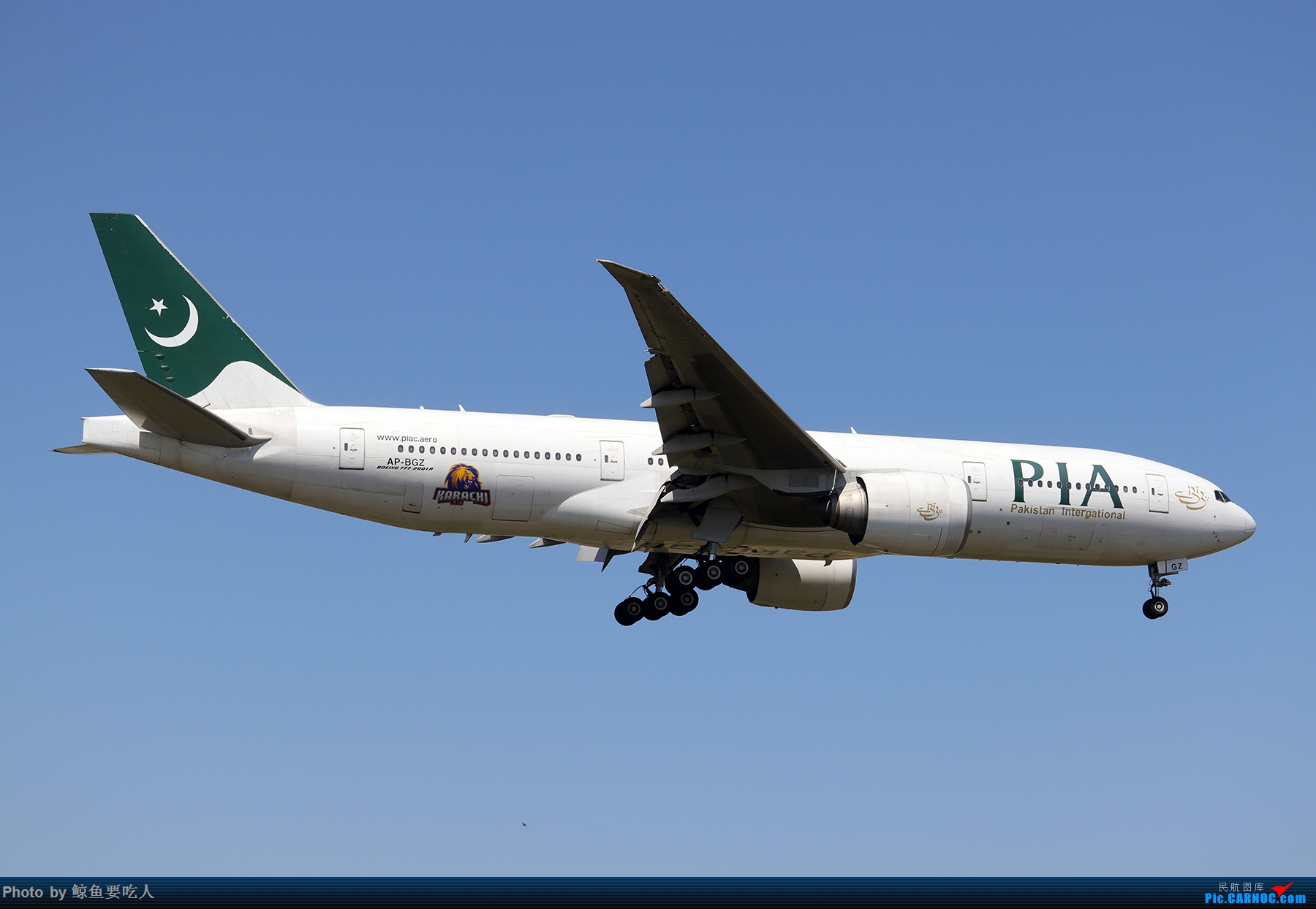 Re:[原创]【多图党】见证疫情后逐步的恢复,加拿大夏日多伦多皮尔逊机场拍机~ 乐见诸航空公司复航多伦多 BOEING 777-200ER AP-BGZ 多伦多皮尔逊国际机场