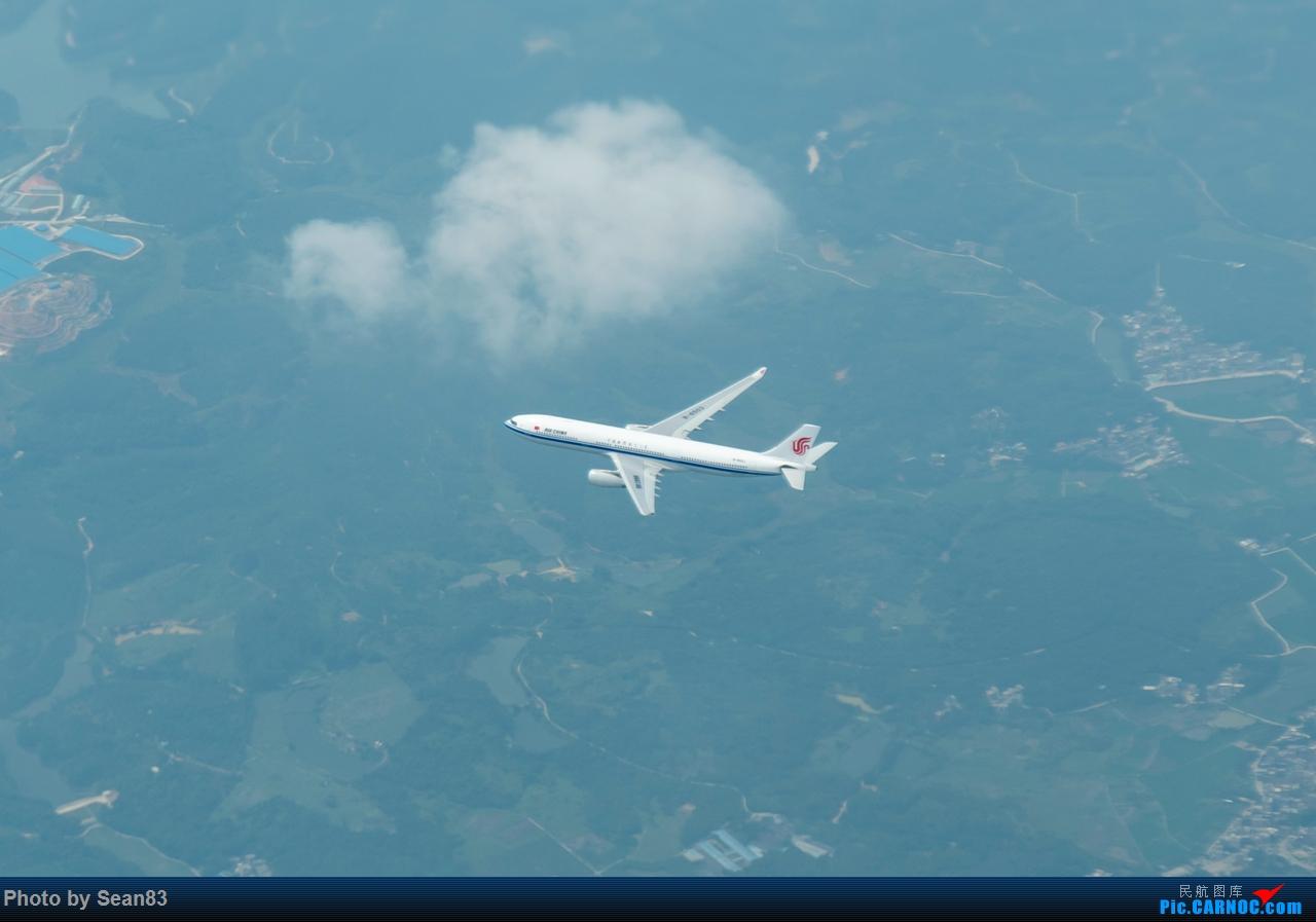 Re:[原创]24小时沪京深--体验26.5岁的女皇 AIRBUS A330-300 B-6503 空中