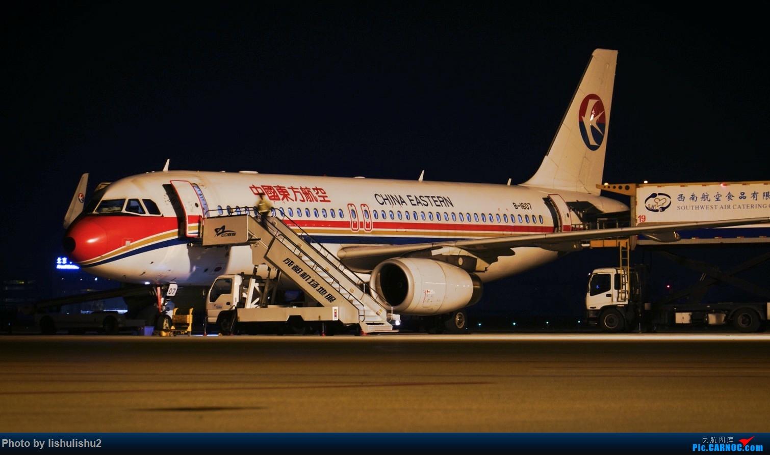 Re:[原创]【CTU】成都内场夜拍 AIRBUS A320-200 B-1607 ZUUU