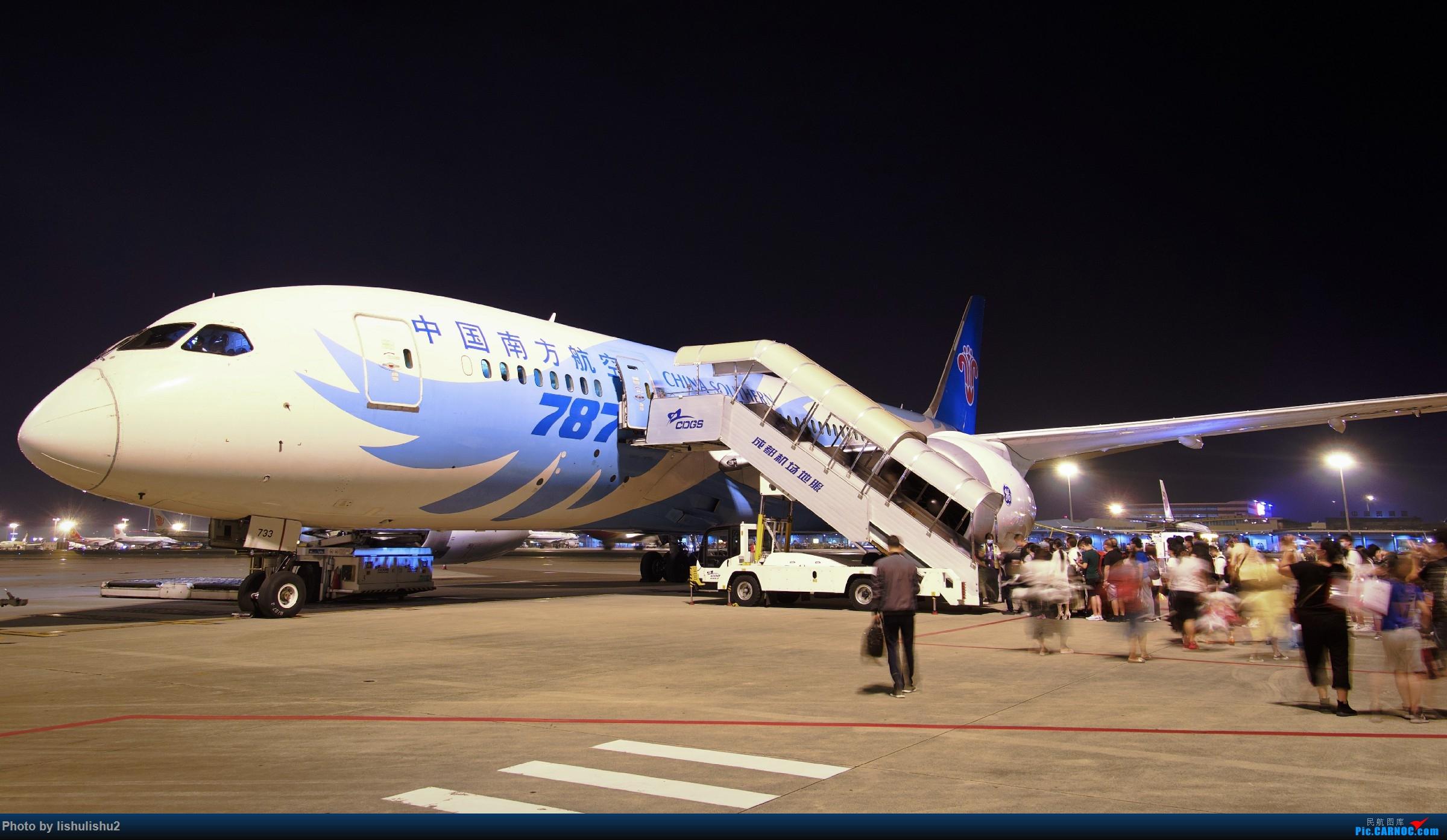 Re:[原创]【CTU】成都内场夜拍 BOEING 787-8 B-2733 ZUUU