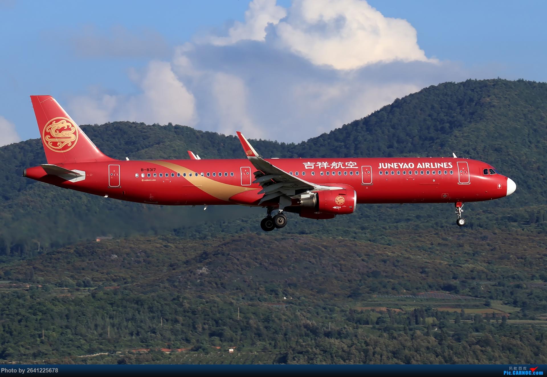 Re:[原创]【KMG】又见长水(1) AIRBUS A321-200 B-8317 中国昆明长水国际机场