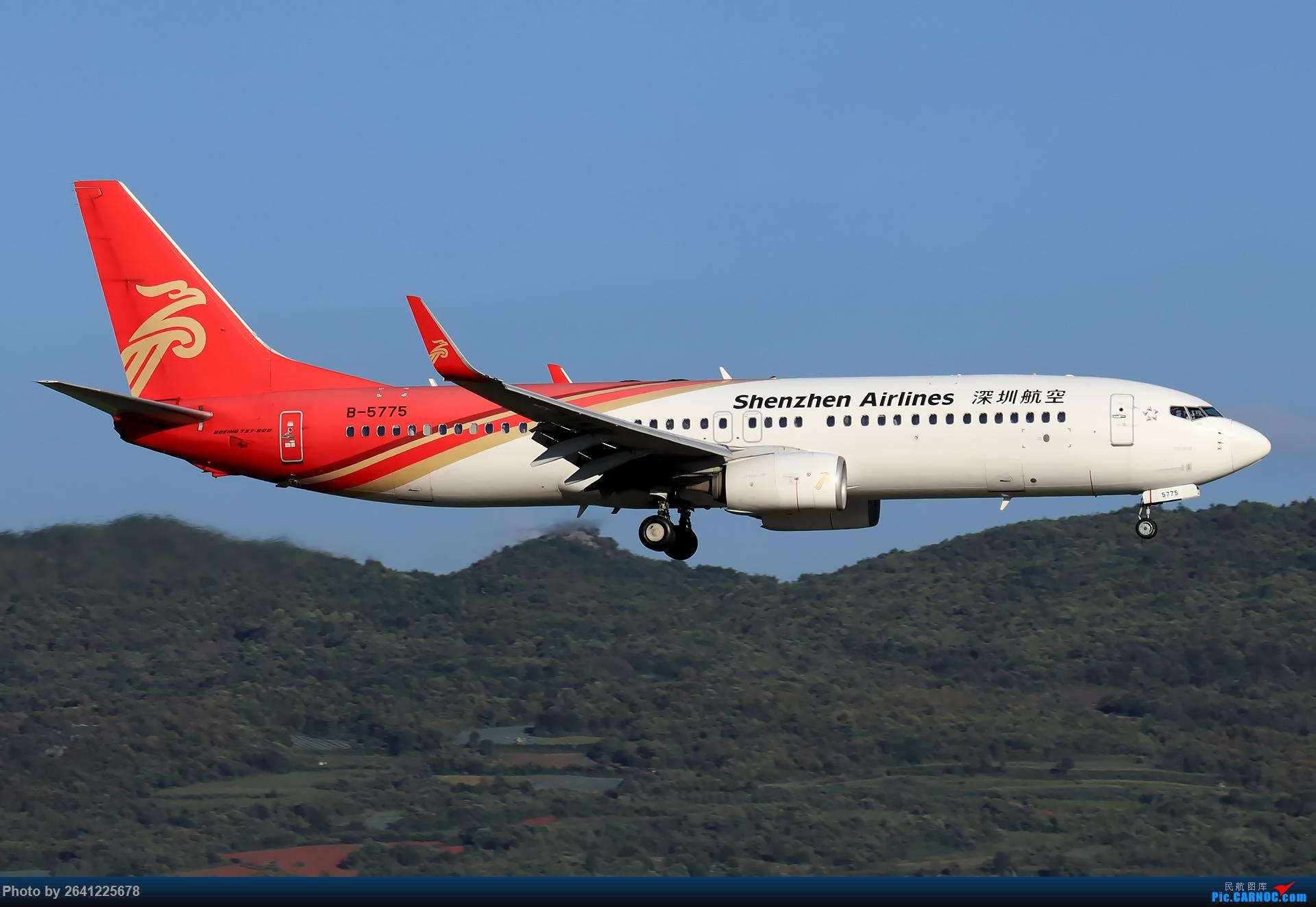 Re:[原创]【KMG】又见长水(1) BOEING 737-800 B-5775 中国昆明长水国际机场