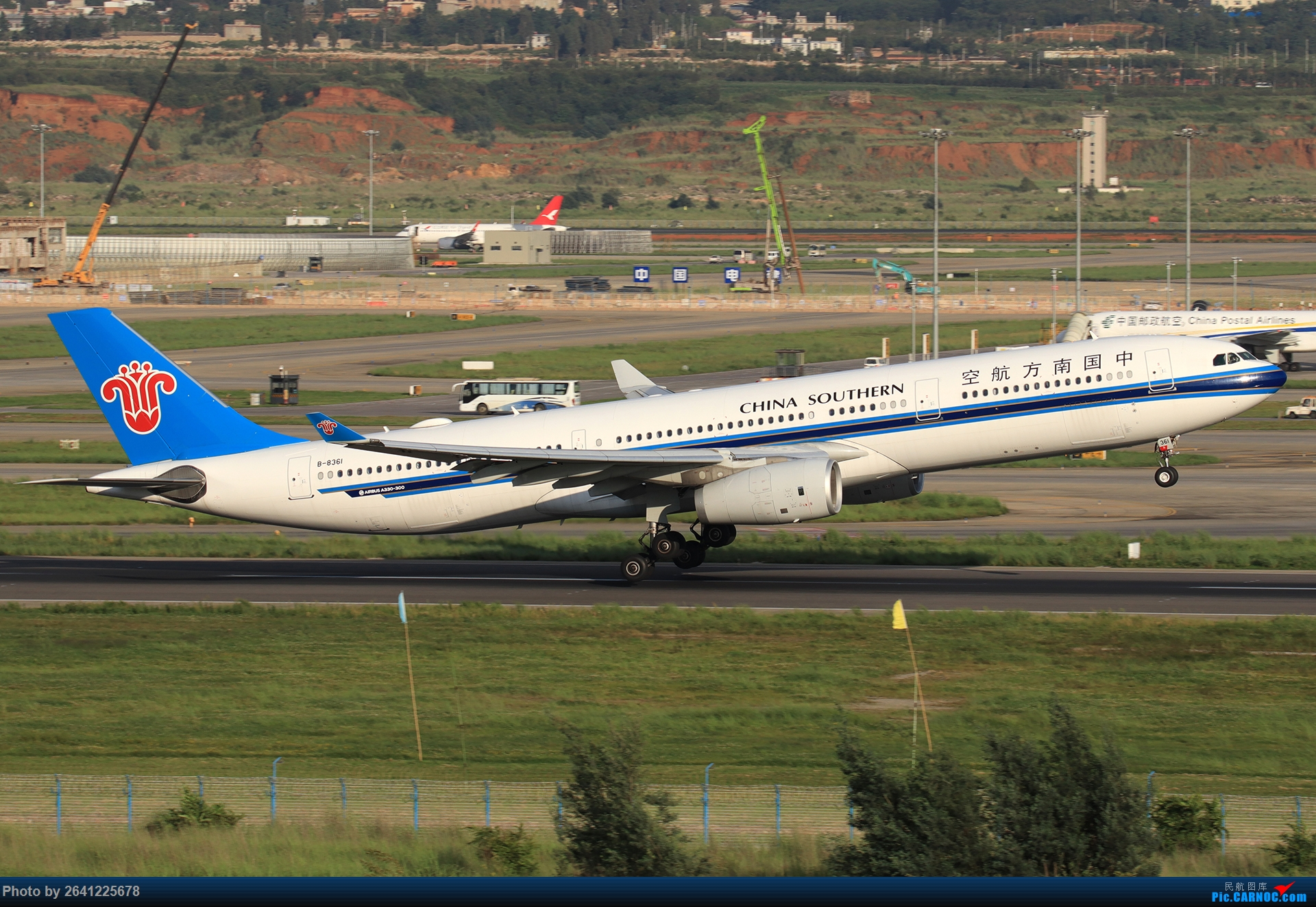 Re:[原创]【KMG】又见长水(3)——晴天西跑,你们要的宽体都在这了 AIRBUS A330-300 B-8361 中国昆明长水国际机场
