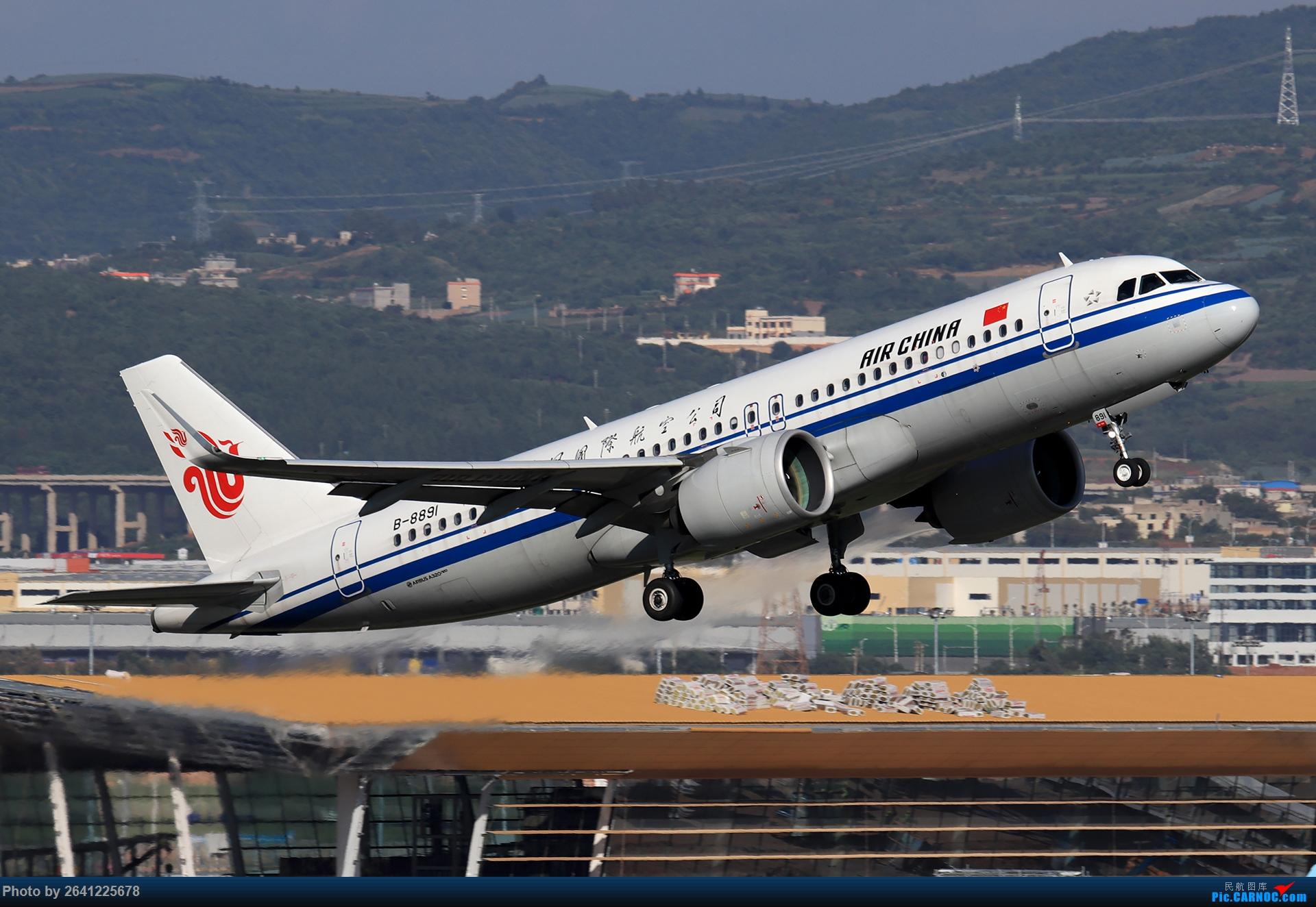 Re:[原创]【KMG】又见长水(3)——晴天西跑,你们要的宽体都在这了 AIRBUS A320NEO B-8891 中国昆明长水国际机场