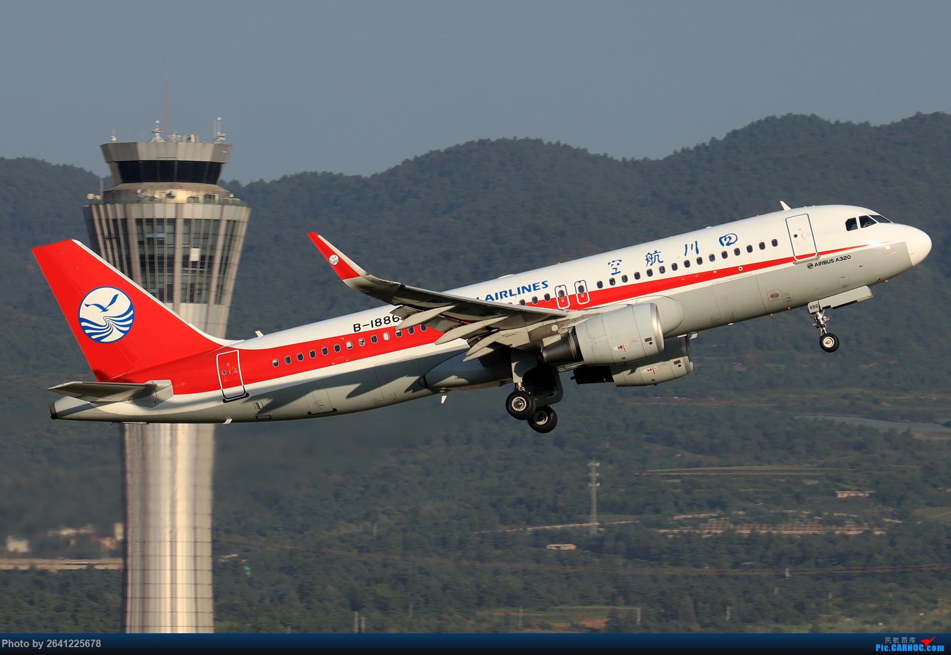 Re:[原创]【KMG】又见长水(3)——晴天西跑,你们要的宽体都在这了 AIRBUS A320-200 B-1886 中国昆明长水国际机场