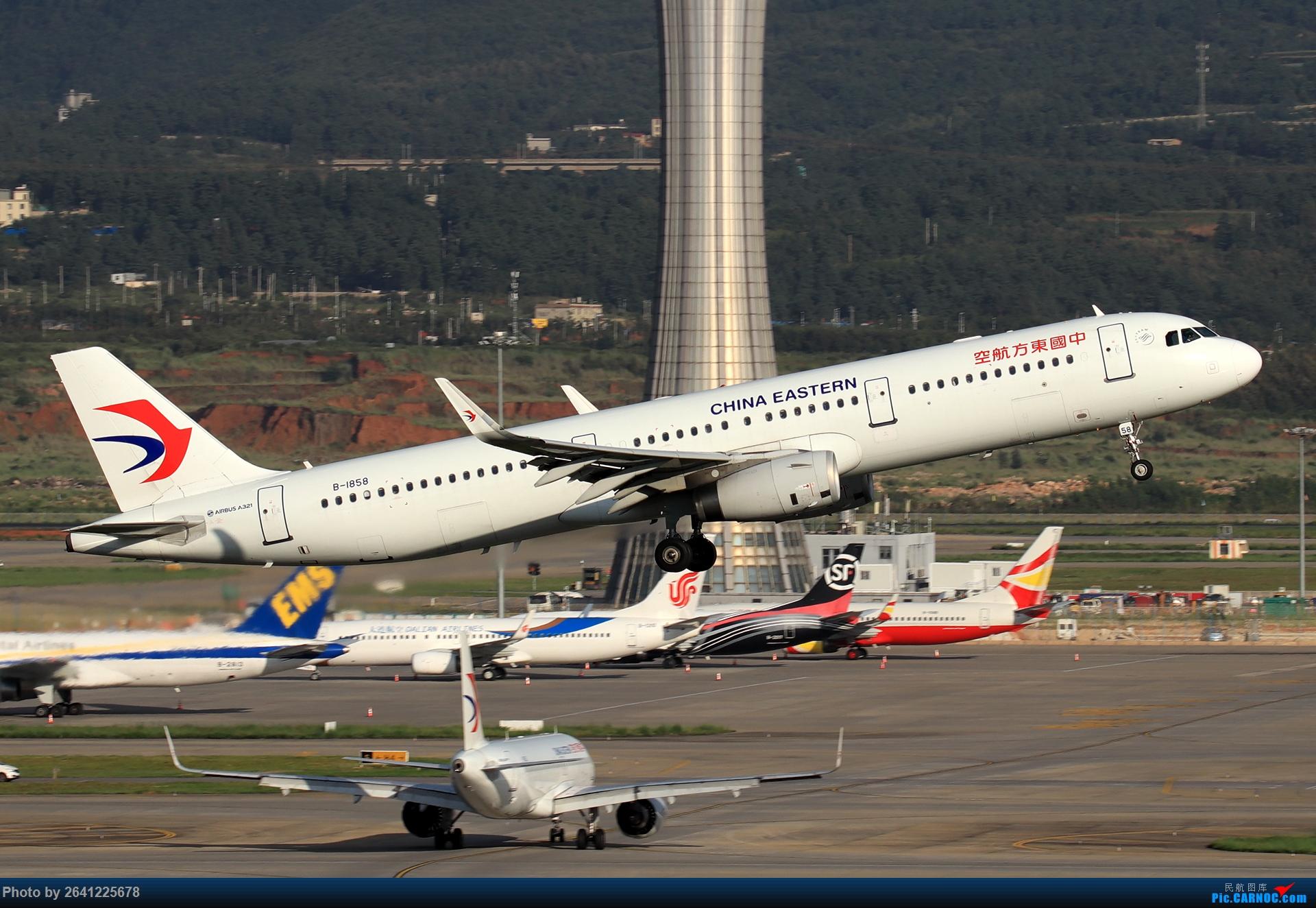 Re:[原创]【KMG】又见长水(3)——晴天西跑,你们要的宽体都在这了(图略多,看官慢慢看) AIRBUS A321-200 B-1858 中国昆明长水国际机场