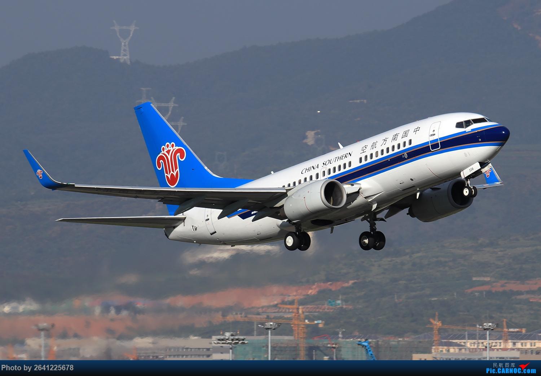 Re:[原创]【KMG】又见长水(3)——晴天西跑,你们要的宽体都在这了(图略多,看官慢慢看) BOEING 737-700 B-5238 中国昆明长水国际机场