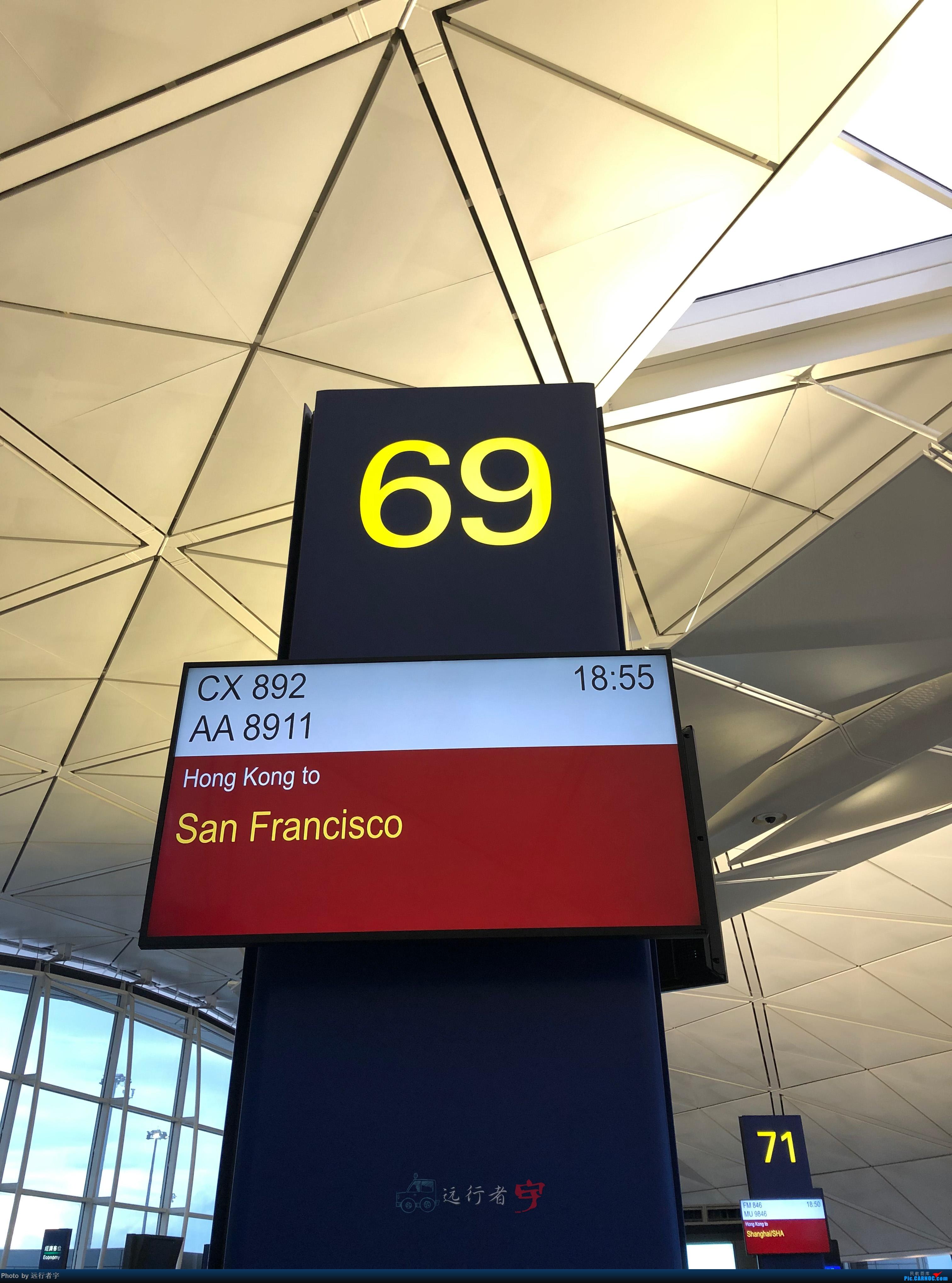 Re:国泰航空HKG-SFO LAX-HKG 公务舱 A350 B777    中国香港国际机场