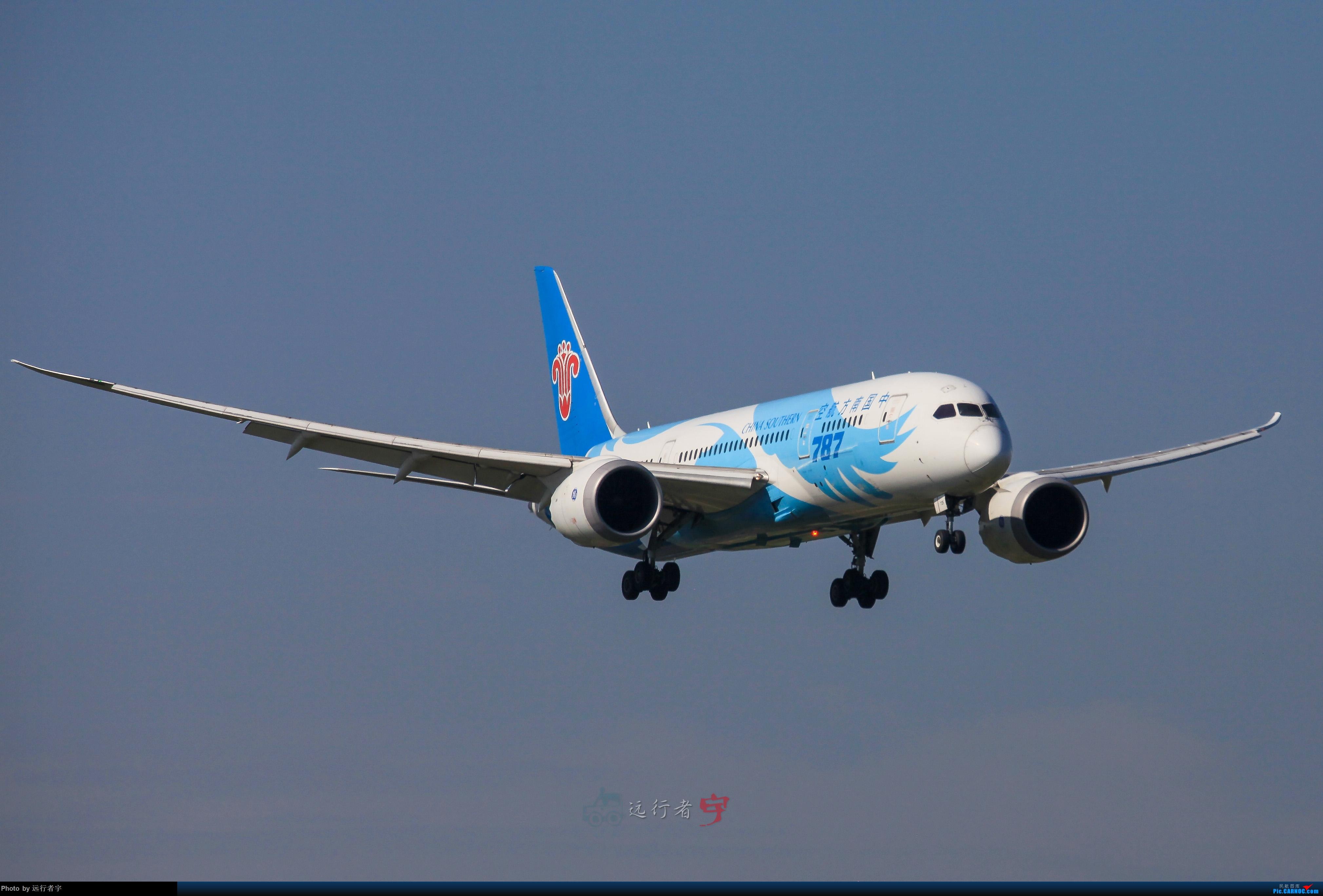【CTU】大晴天双流02R拍机之787篇 BOEING 787-8 B-2725 中国成都双流国际机场