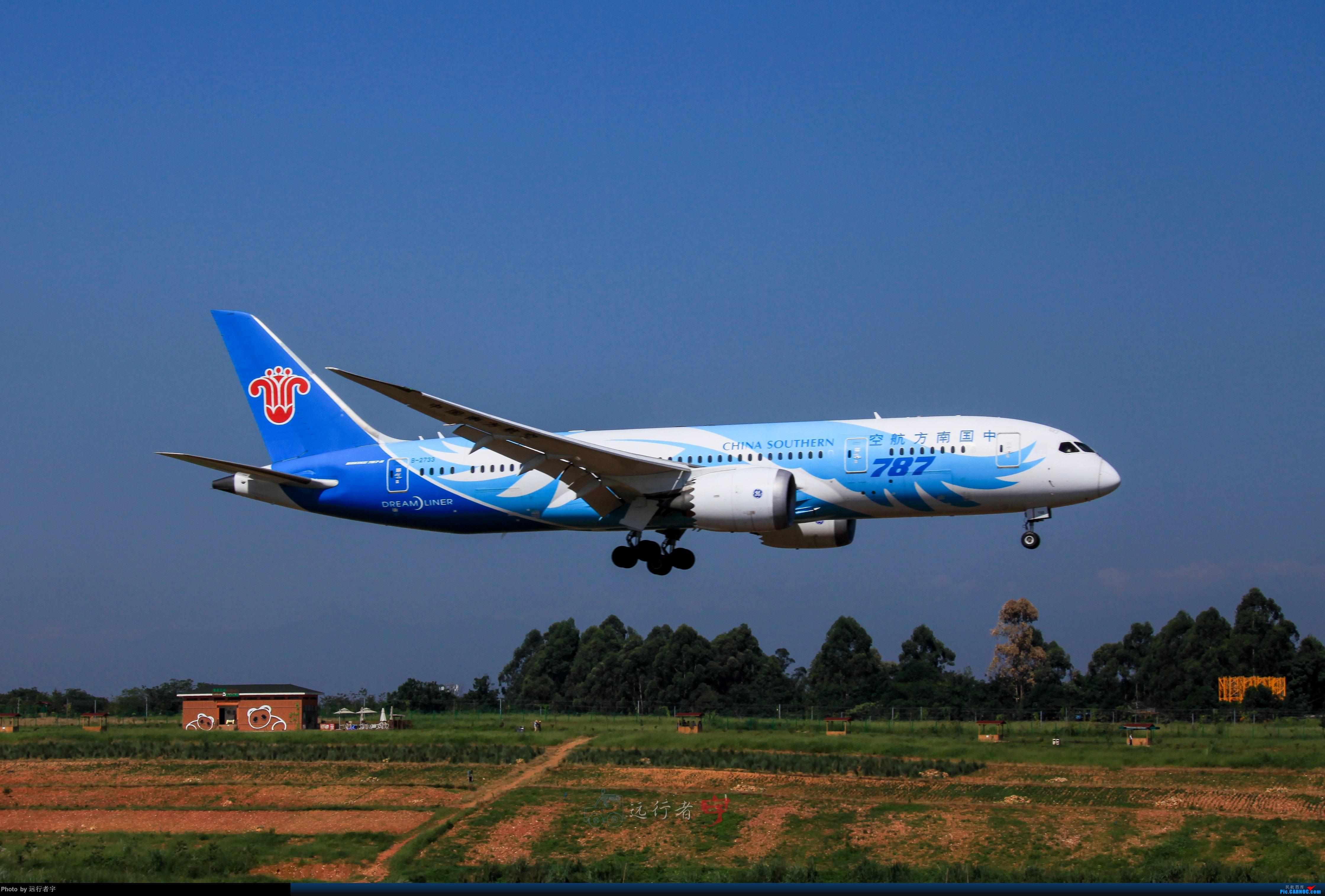 Re:[原创]【CTU】大晴天双流02R拍机之787篇 BOEING 787-8 B-2733 中国成都双流国际机场