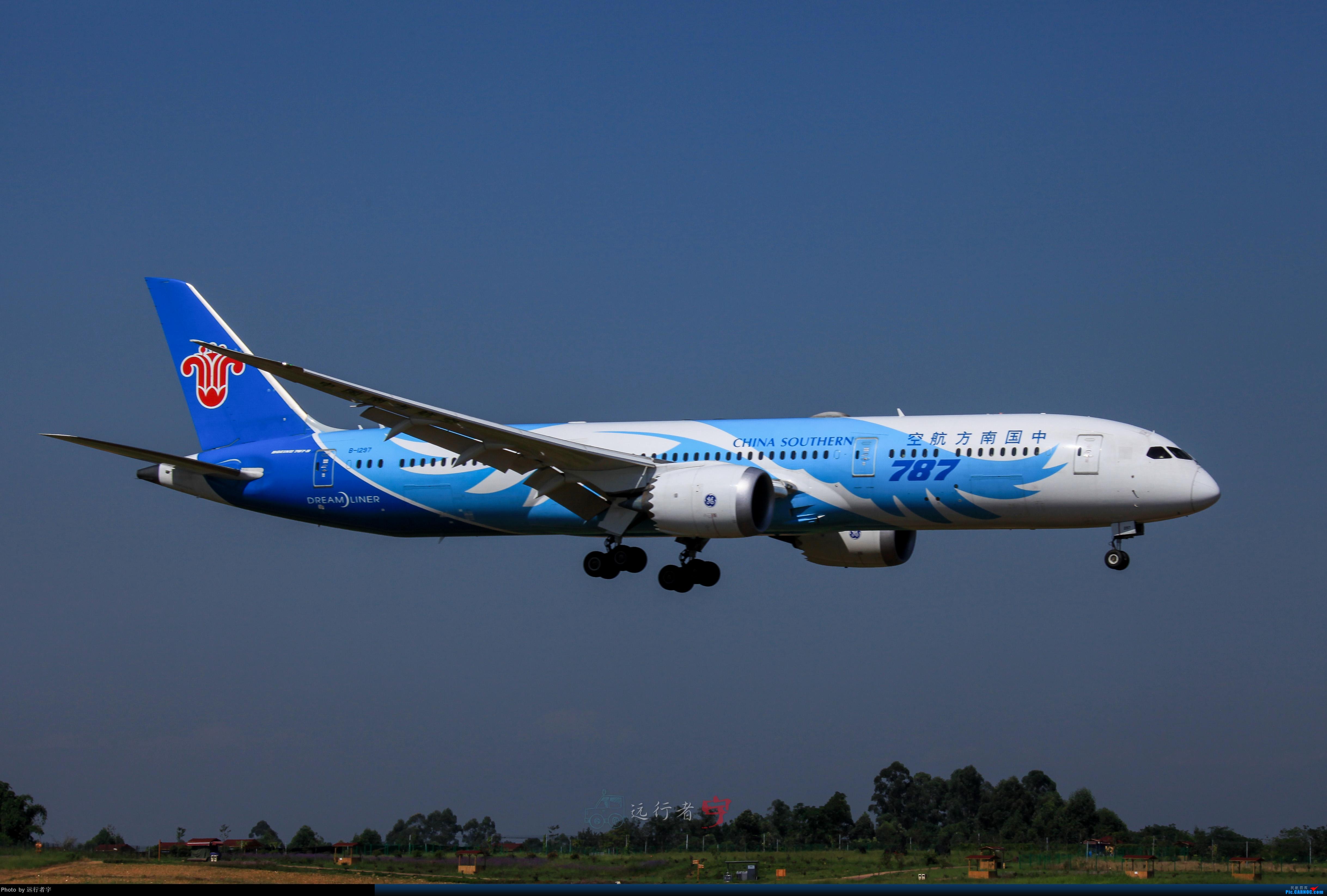 Re:[原创]【CTU】大晴天双流02R拍机之787篇 BOEING 787-9 B-1297 中国成都双流国际机场