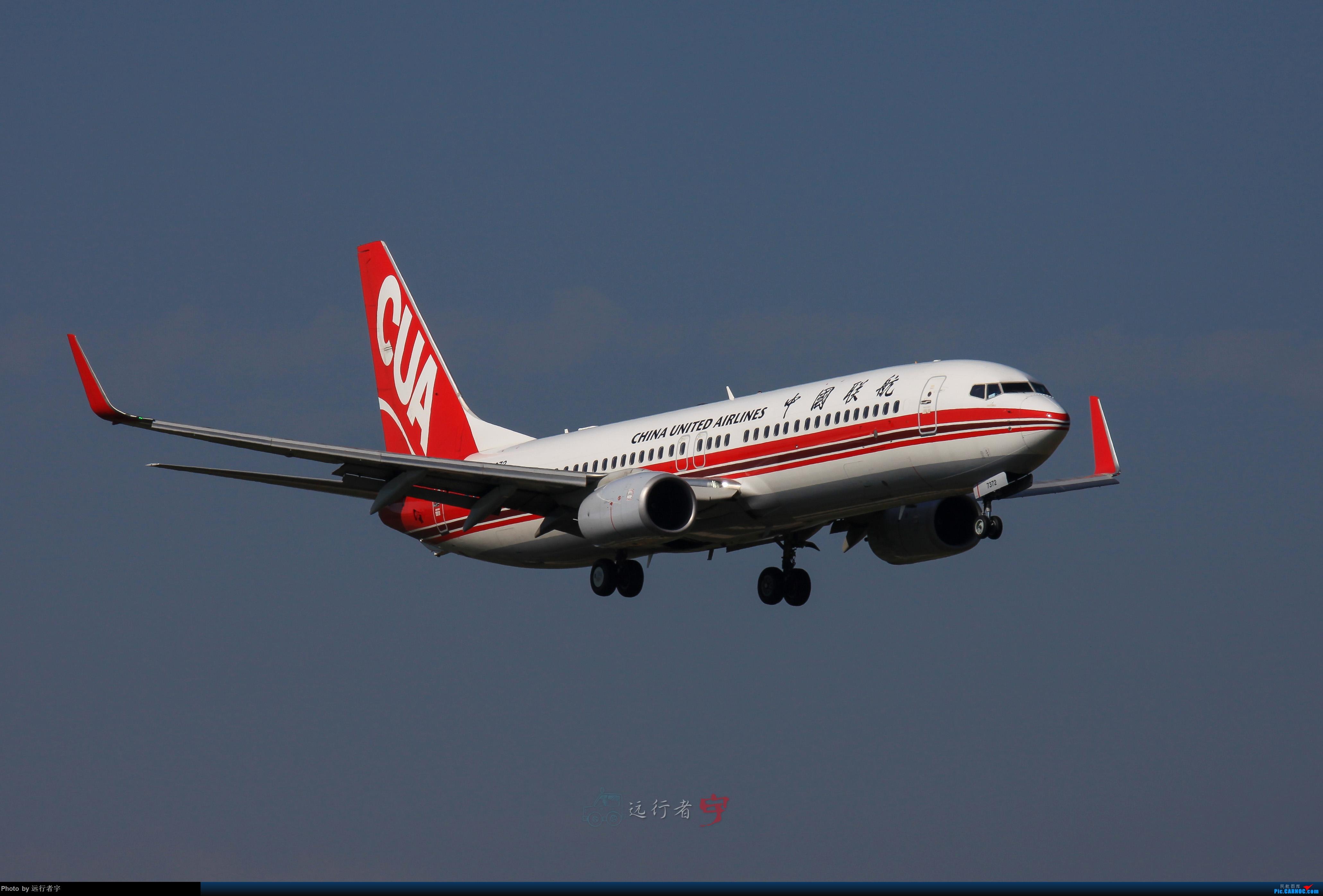 Re:[原创]【CTU】大晴天双流02R拍机(号外:与东航350的缘分) BOEING 737-800 B-7372 中国成都双流国际机场