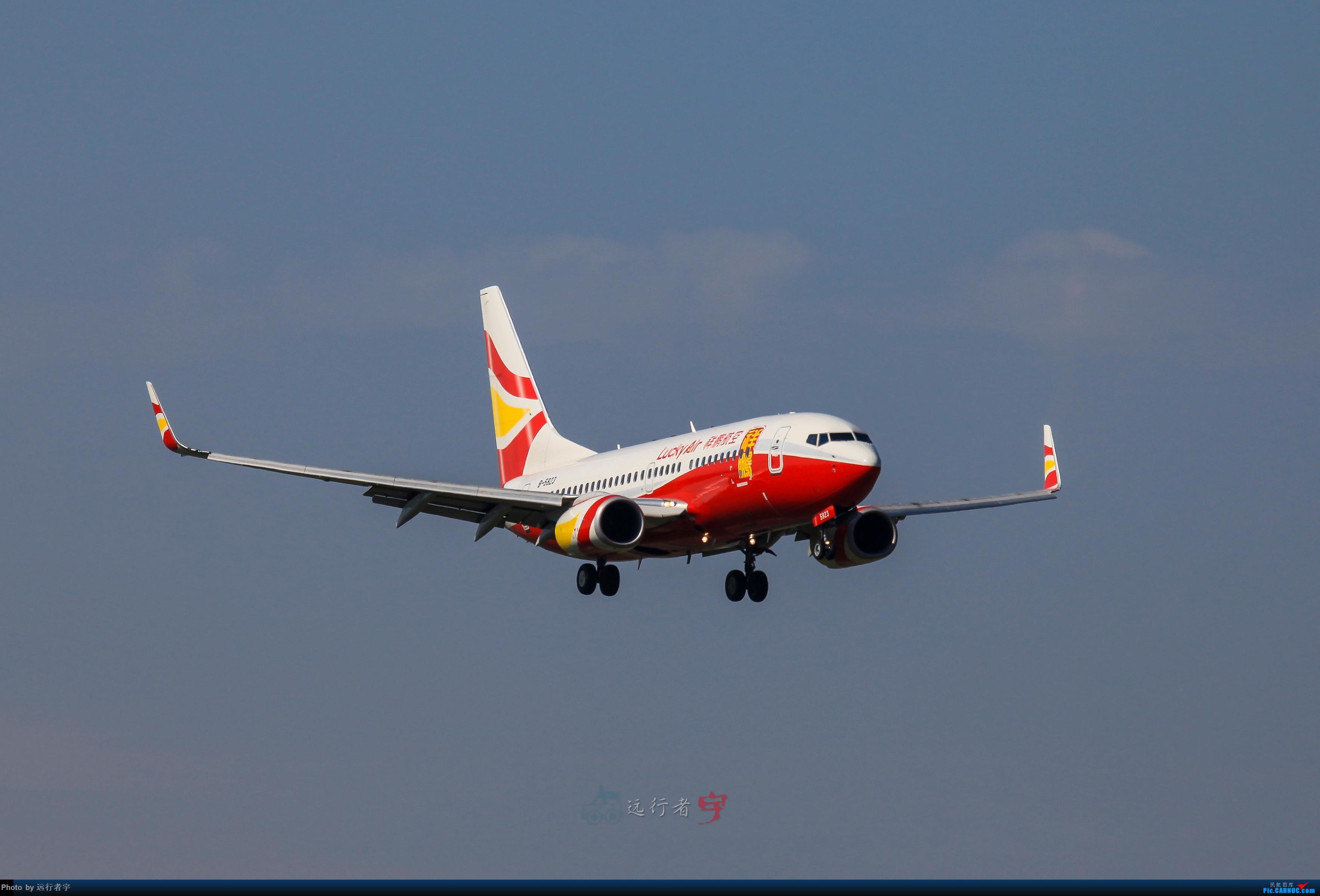 Re:[原创]【CTU】大晴天双流02R拍机(号外:与东航350的缘分) BOEING 737-700 B-5823 中国成都双流国际机场