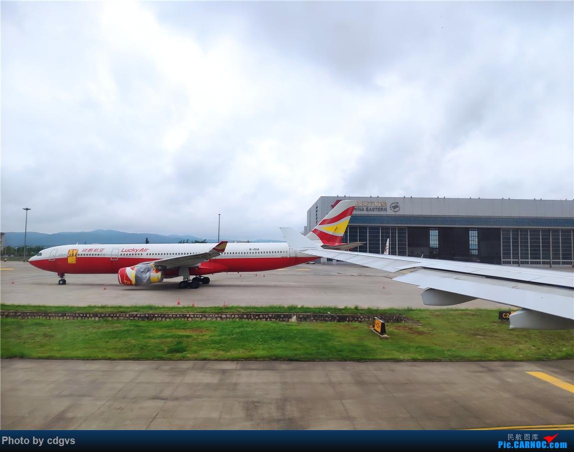 Re:[原创]借道魔都去上学,南航33C初体验 AIRBUS A330-300 B-1014 中国昆明长水国际机场