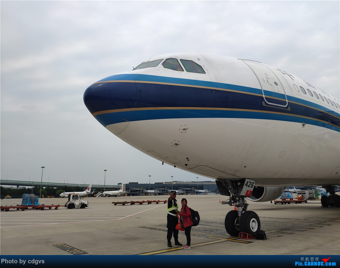 Re:[原创]借道魔都去上学,南航33C初体验 AIRBUS A330-300 B-8426 中国上海虹桥国际机场