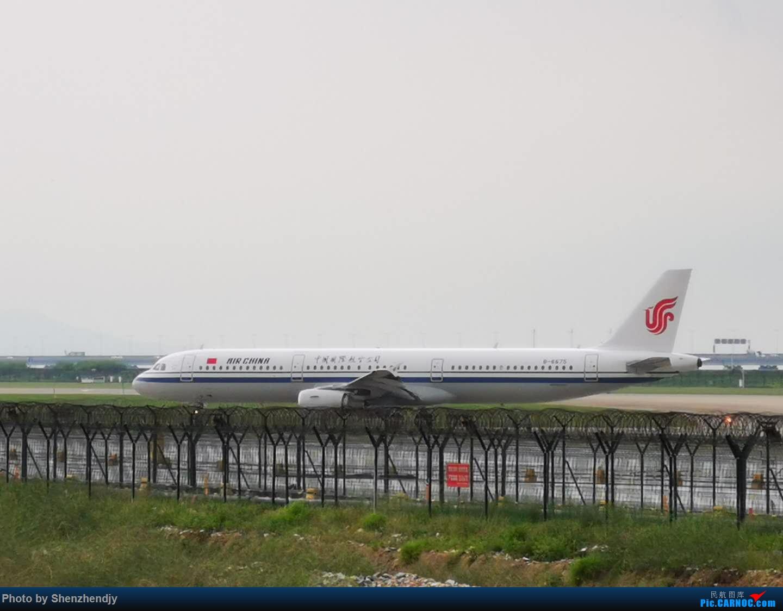 Re:SZX手机渣图 AIRBUS A321-200 B-6675 中国深圳宝安国际机场