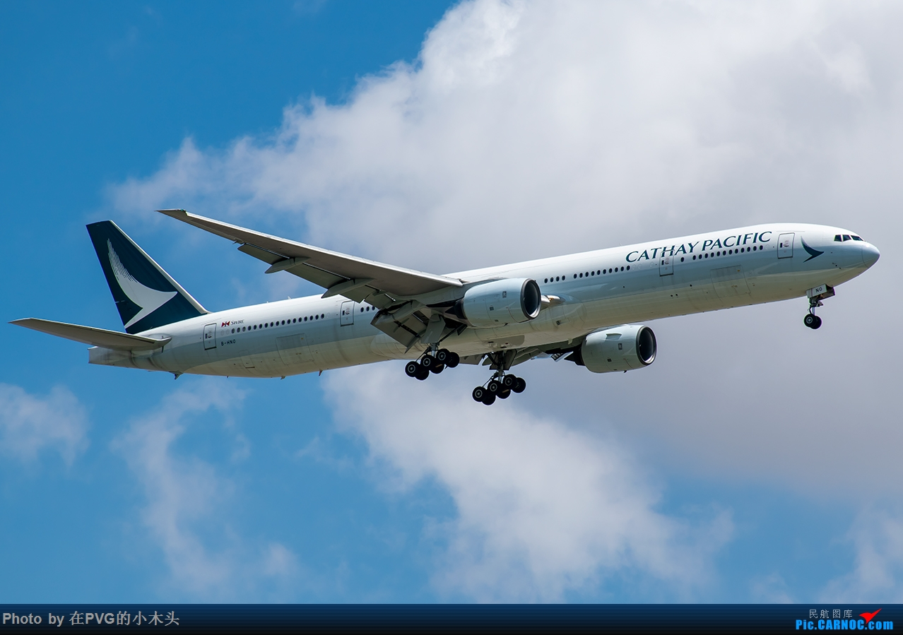 PVG&SHA 拍机 宽体机 BOEING 777-300 B-NHO 中国上海浦东国际机场