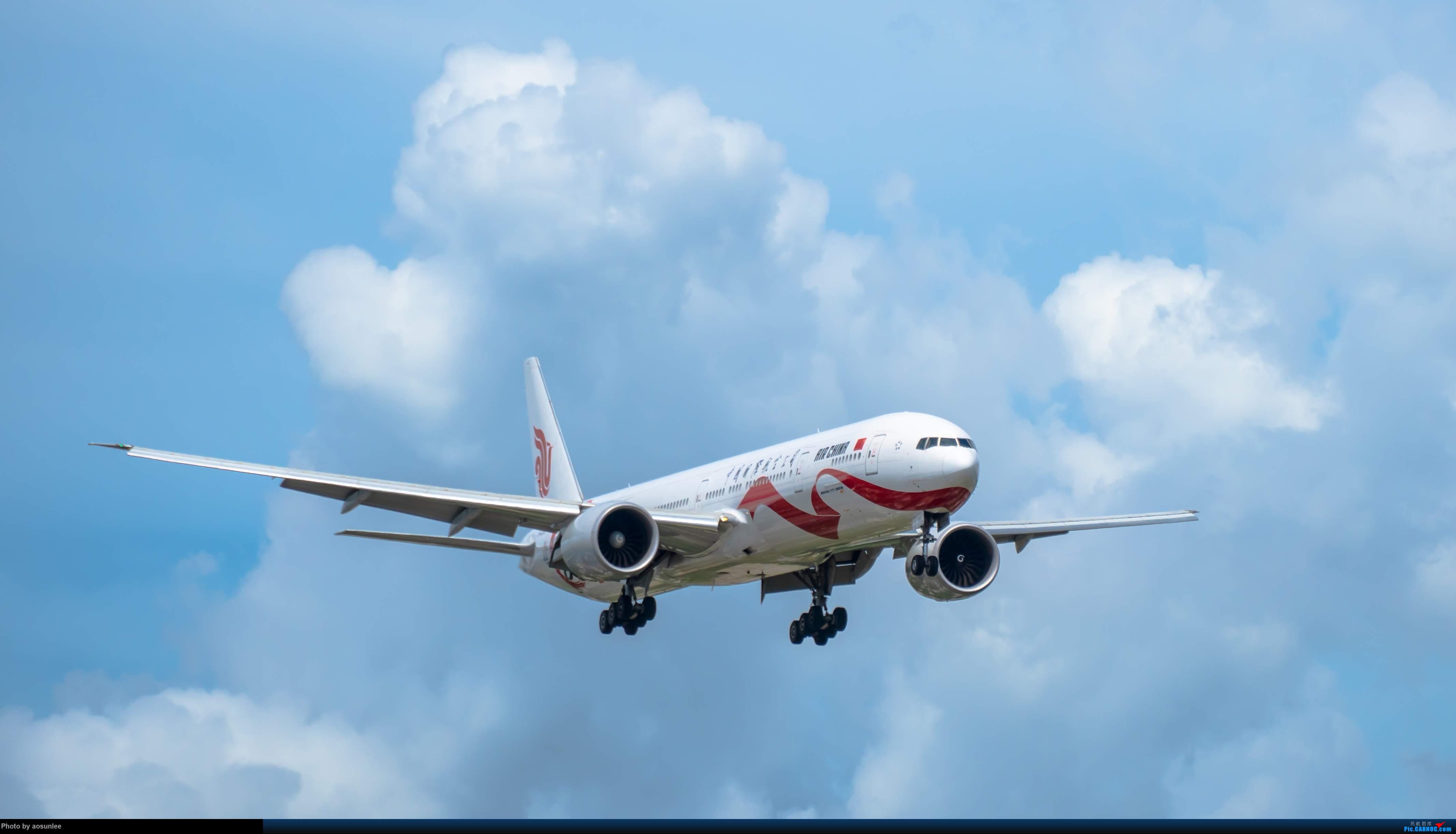 Re:[原创]9.12SYX 国航B2006爱CHINA BOEING 777-300ER B-2006 中国三亚凤凰国际机场