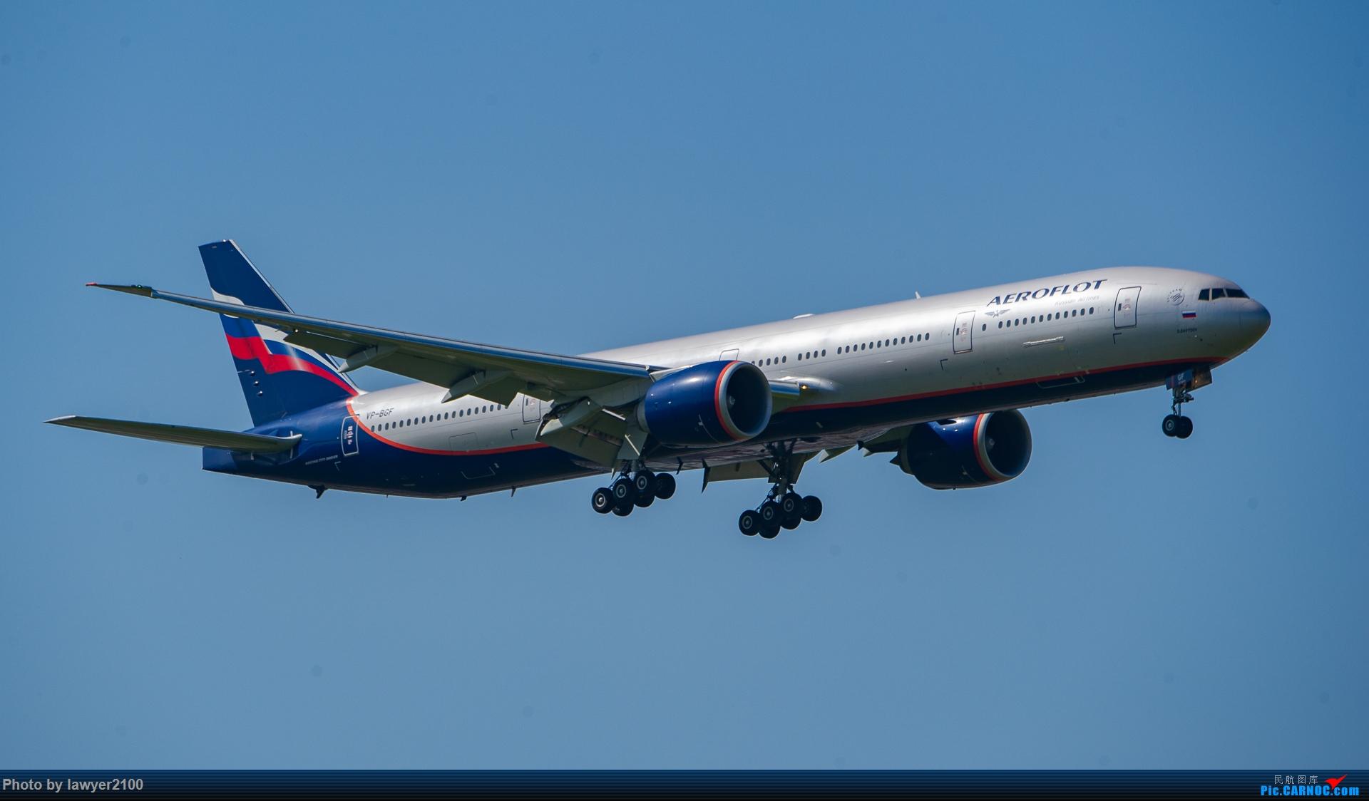 Re:PVG的俄航777-300ER BOEING 777-300ER VP-BGF 中国上海浦东国际机场
