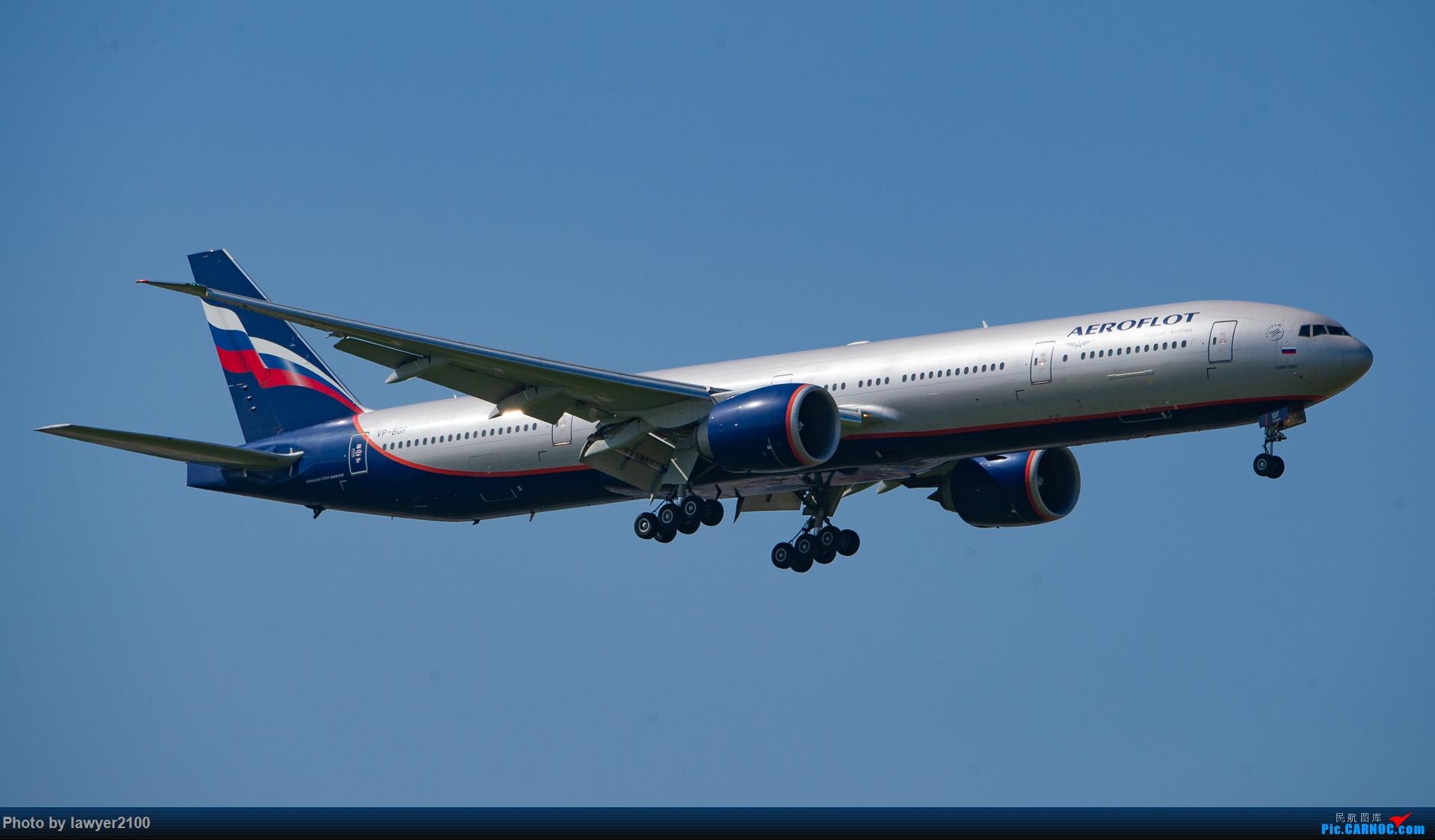 Re:[原创]PVG的俄航777-300ER BOEING 777-300ER VP-BGF 中国上海浦东国际机场