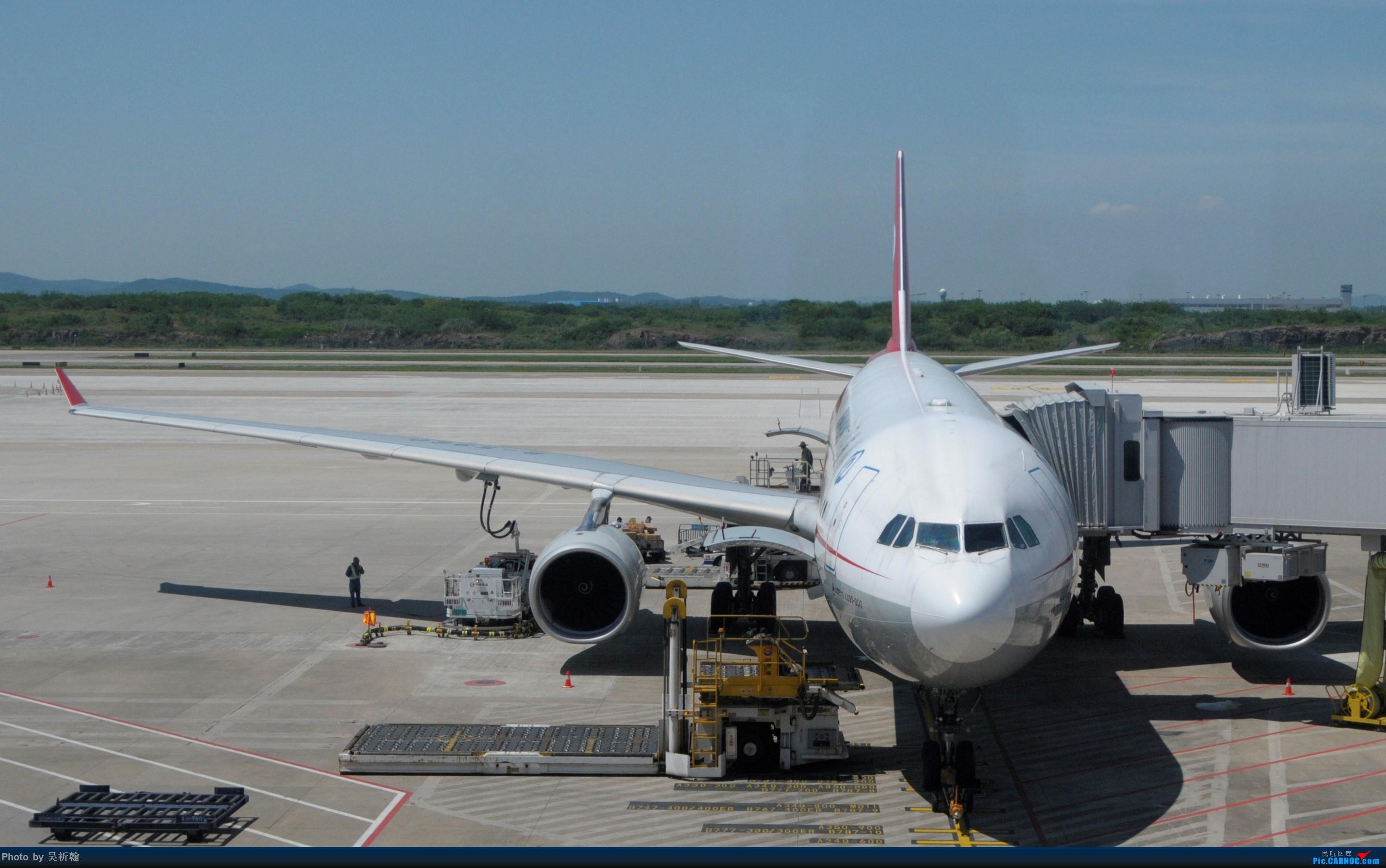 Re:[原创]Kian的飞行游记2:金陵2日游,B787返回广州 AIRBUS A330-300