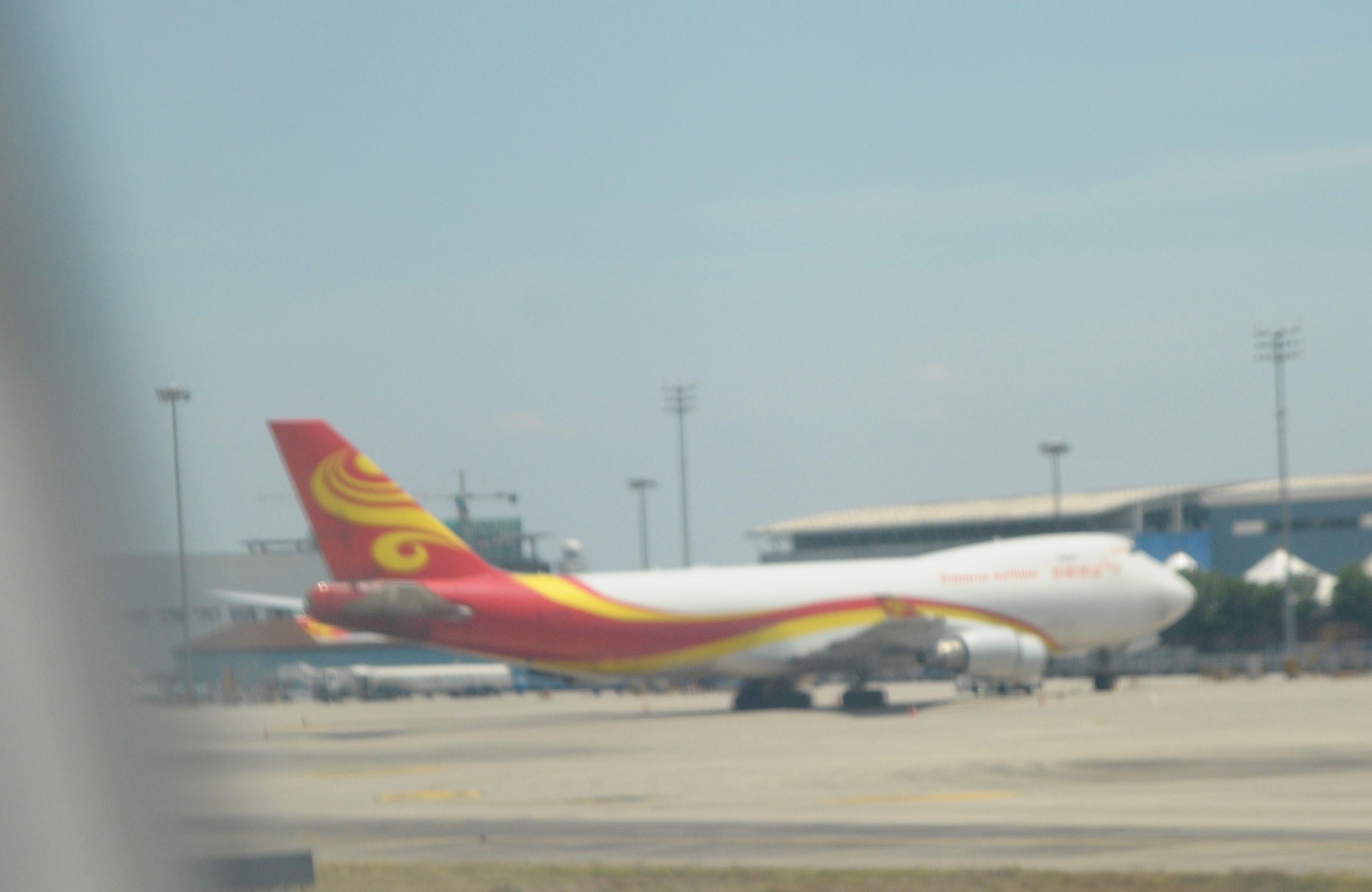 Re:[原创]Kian的飞行游记2:金陵2日游,B787返回广州 BOEING 747-400F