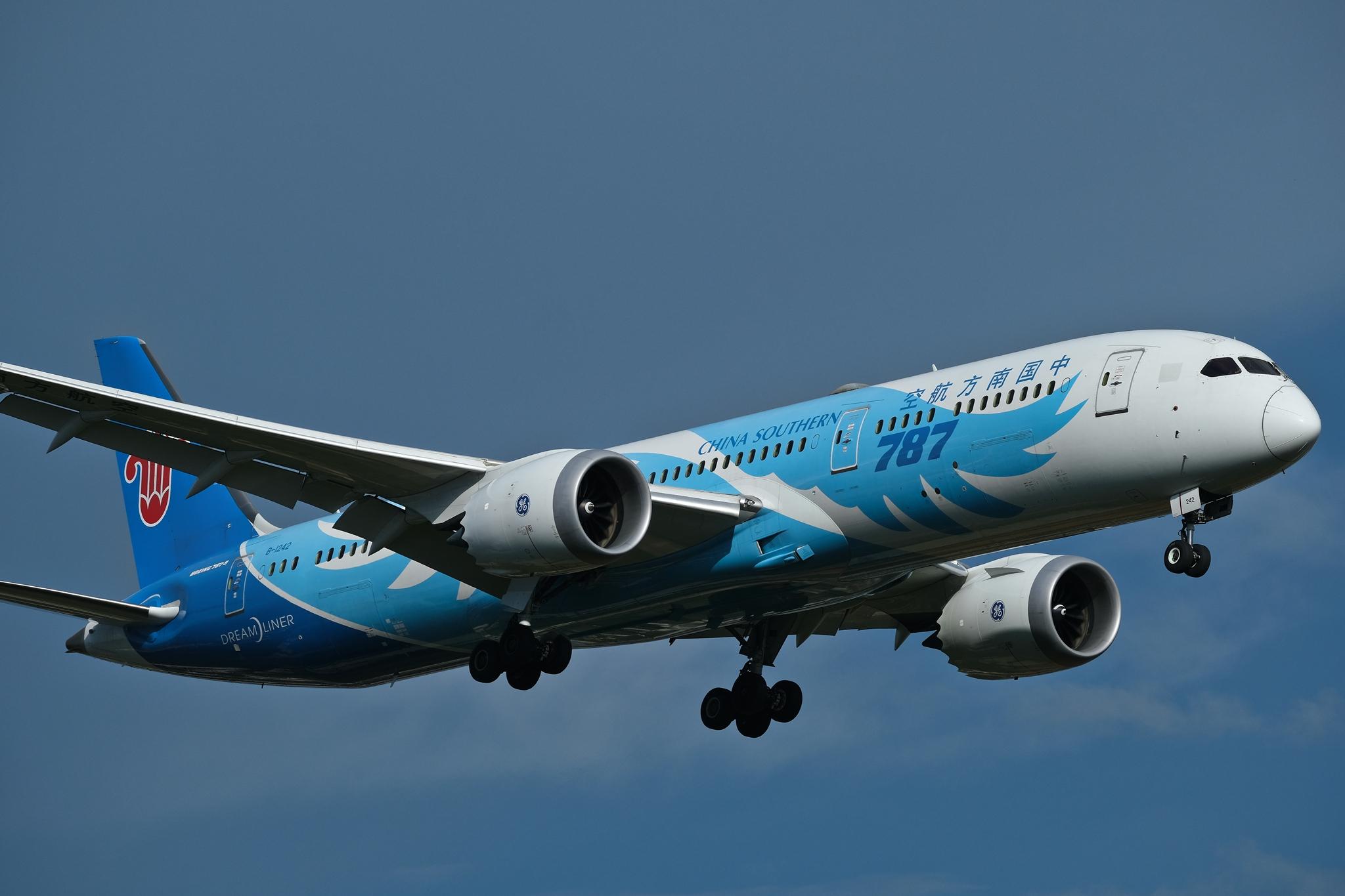 [原创]仁者乐水 长假乐长水 BOEING 787-9 B-1242 中国昆明长水国际机场