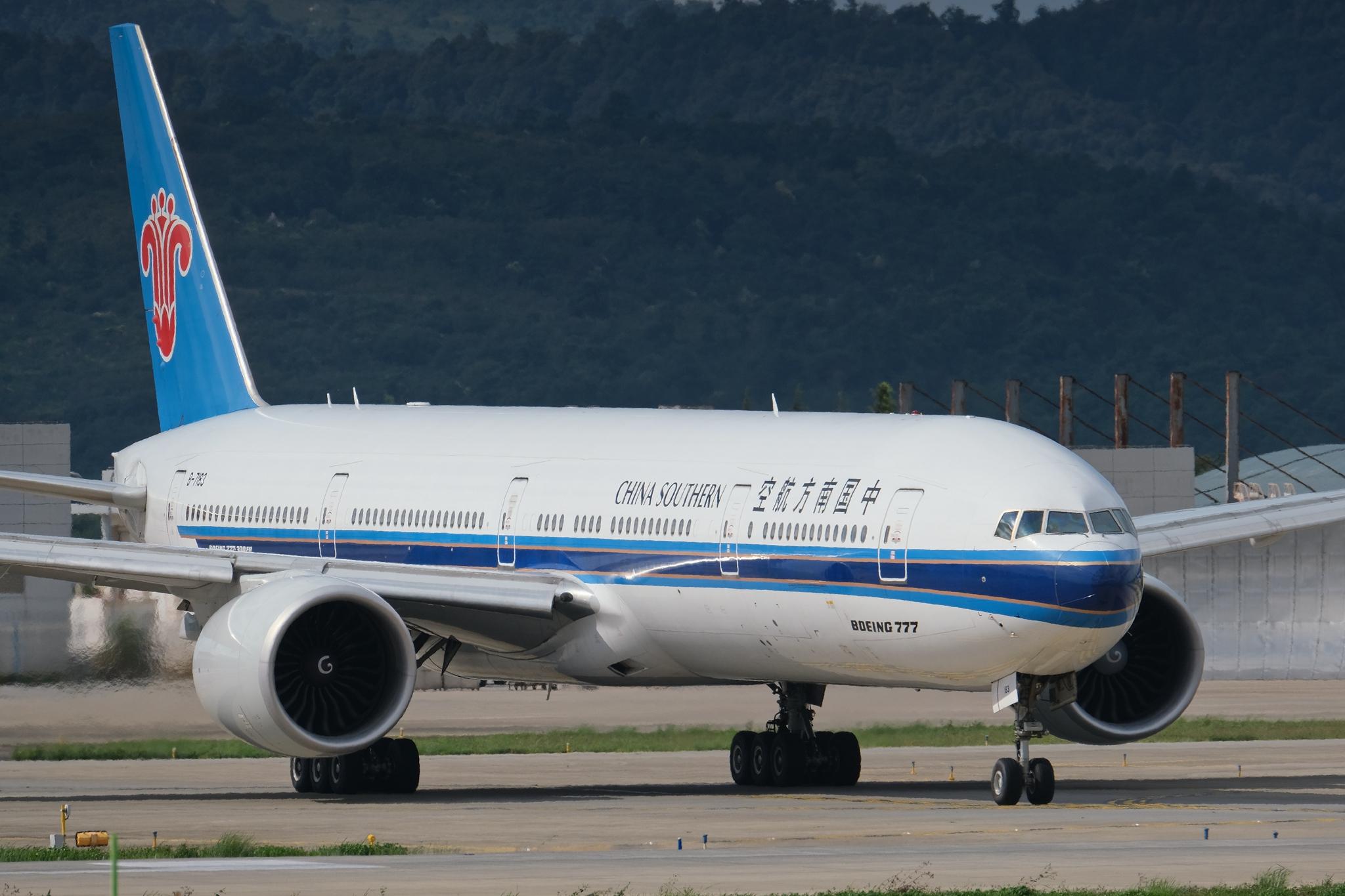 【KMG】777-由我天地宽 BOEING 777-300ER B-7183 中国昆明长水国际机场